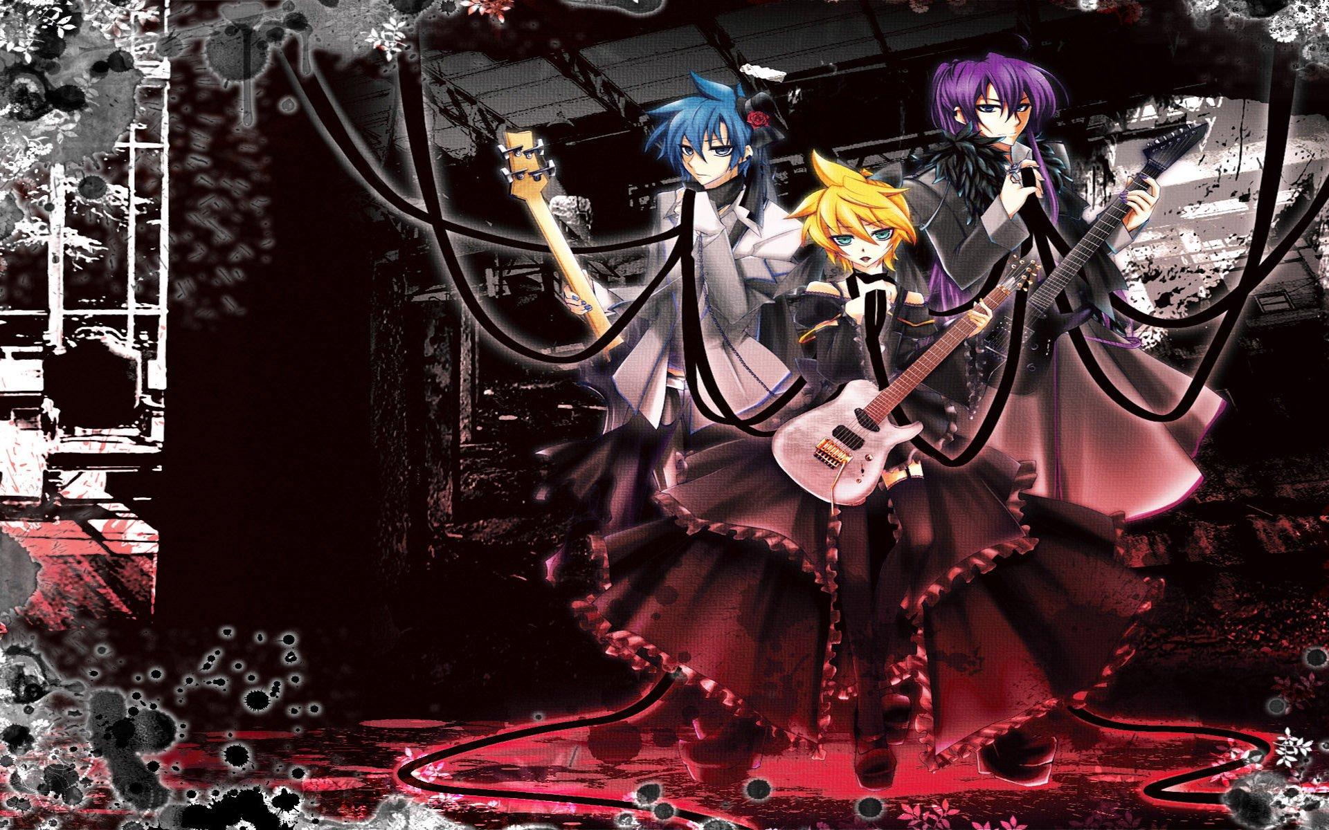 Hd Wallpaper Rock N Roll Anime 1227497 Hd Wallpaper