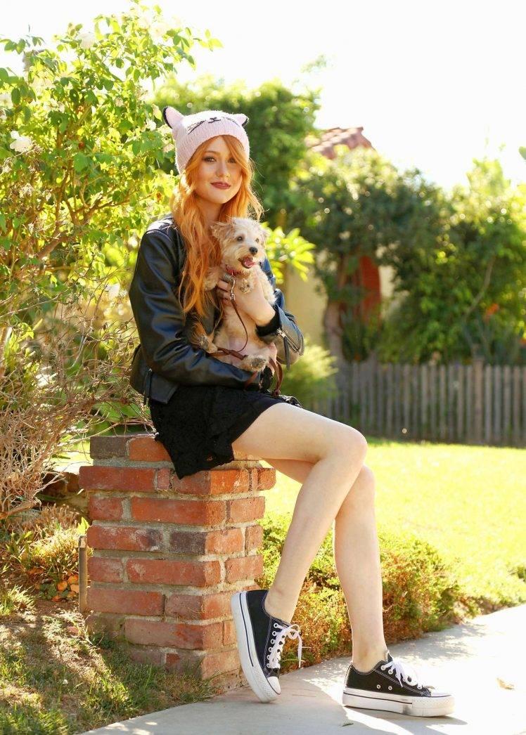 Women, Model, Redhead, Long Hair, Women Outdoors, Katherine - Converse Model Girl Hd , HD Wallpaper & Backgrounds
