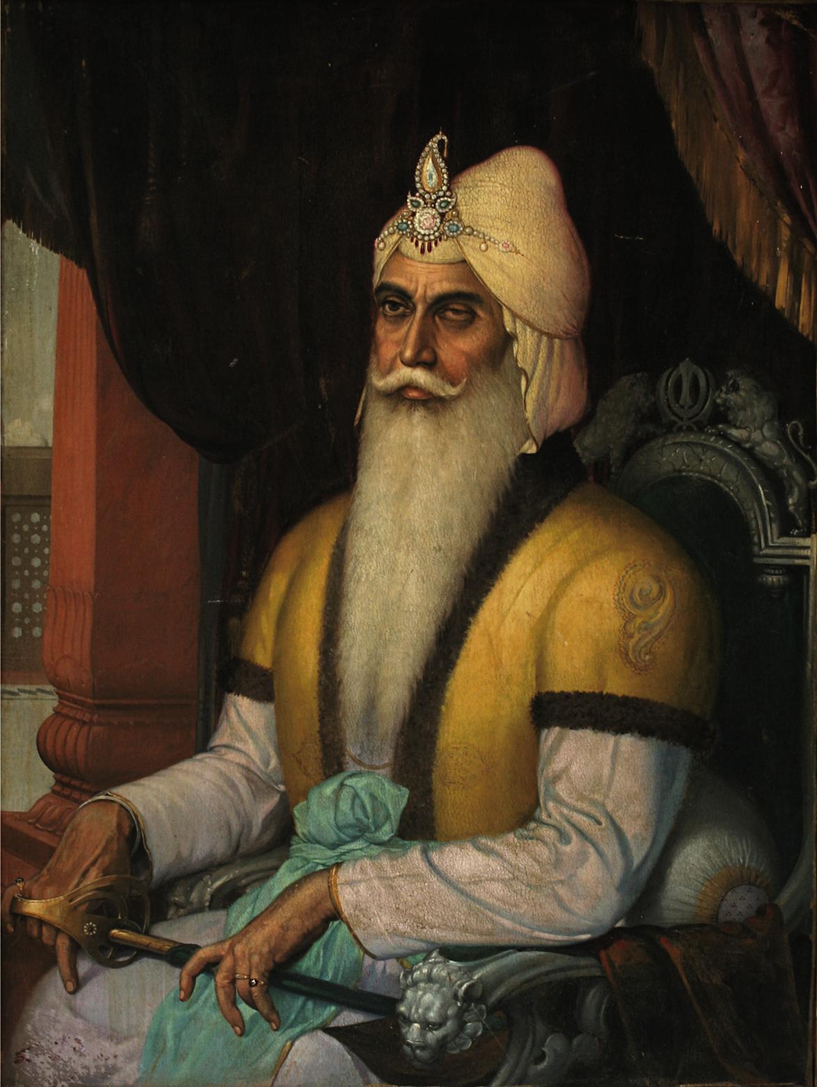 - Jpeg - Maharaja Ranjit Singh , HD Wallpaper & Backgrounds
