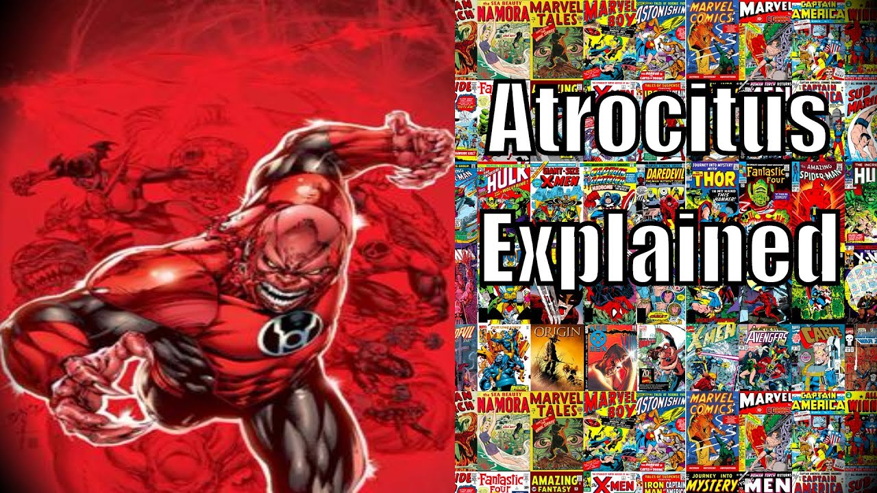 Atrocitus Explained All Red Lantern Corps 1234580 Hd