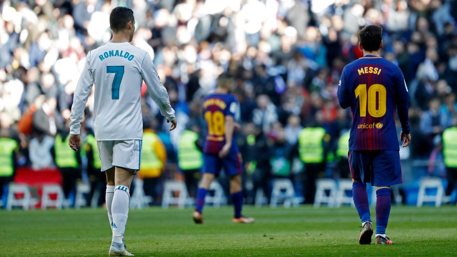 Barcelona Boss Ernesto Valverde Explains What Cristiano - Messi Vs Ronaldo , HD Wallpaper & Backgrounds