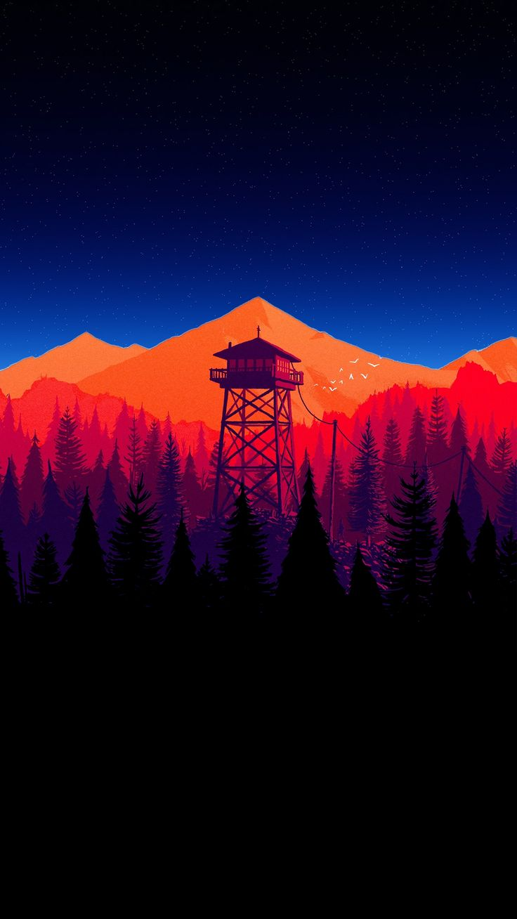 Firewatch Wallpaper Firewatch Wallpaper 18 9 1235741 Hd Wallpaper Backgrounds Download