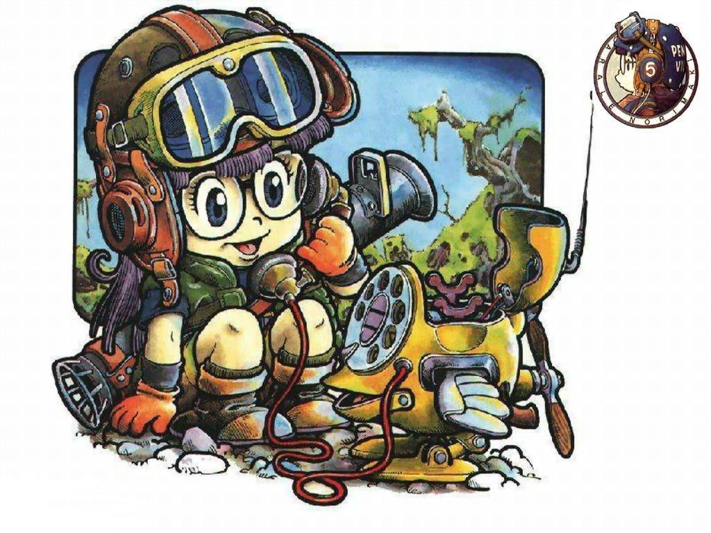 View Fullsize Norimaki Arale Image Dr Slump Hd Wallpaper Backgrounds Download