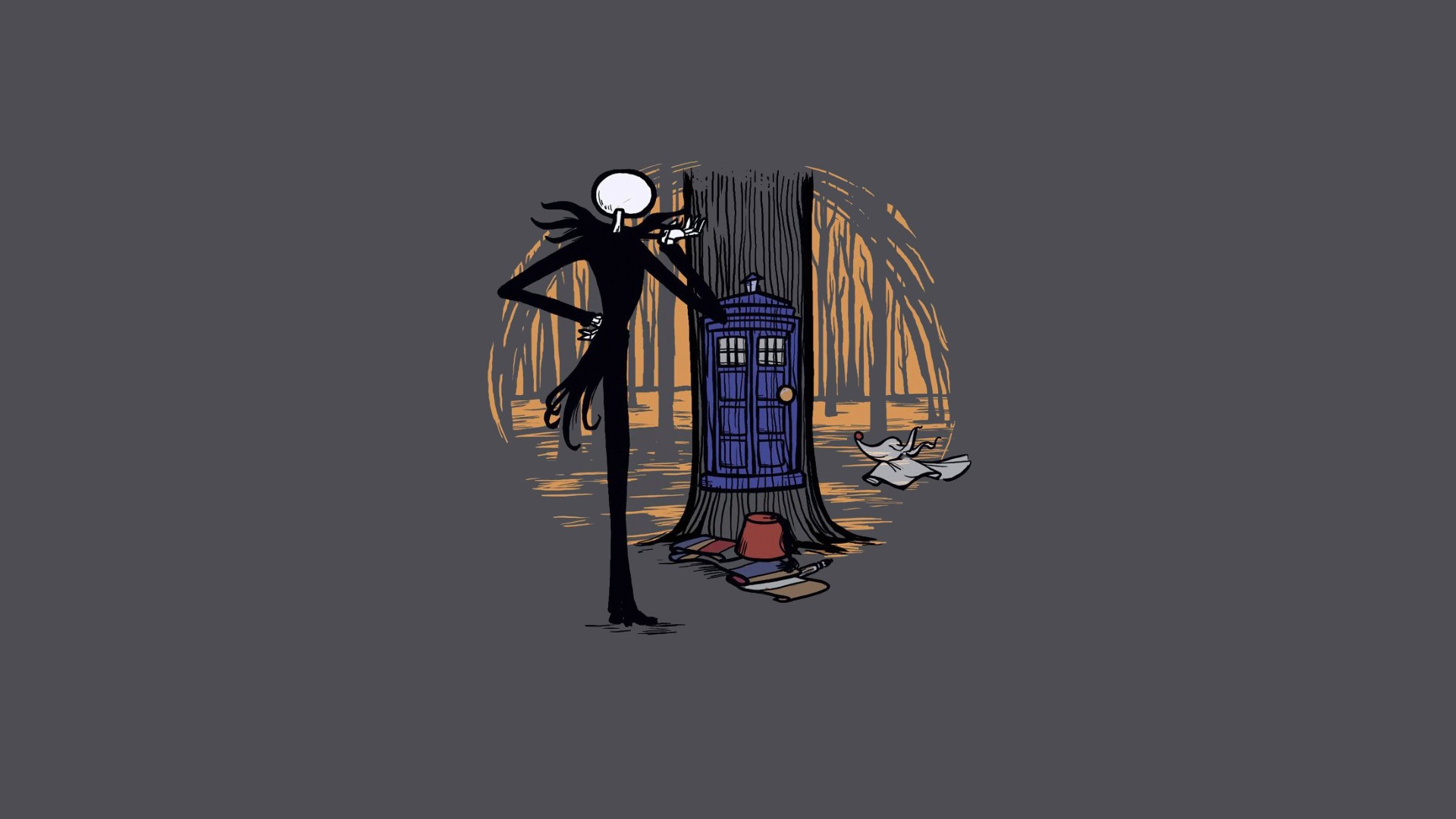 Crossover The Nightmare Before Christmas Wallpapers Nightmare