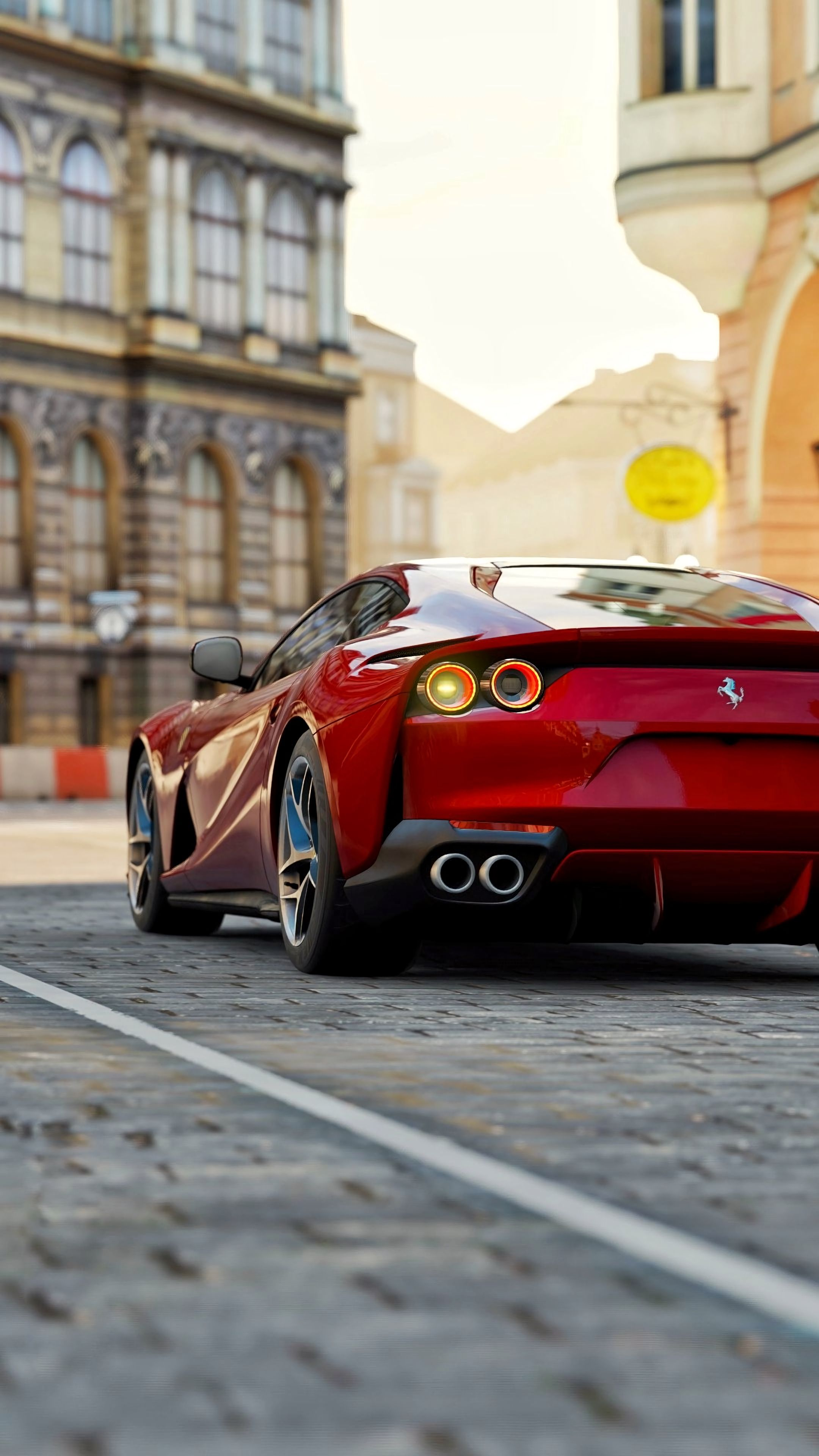 Wallpaper Android Ferrari