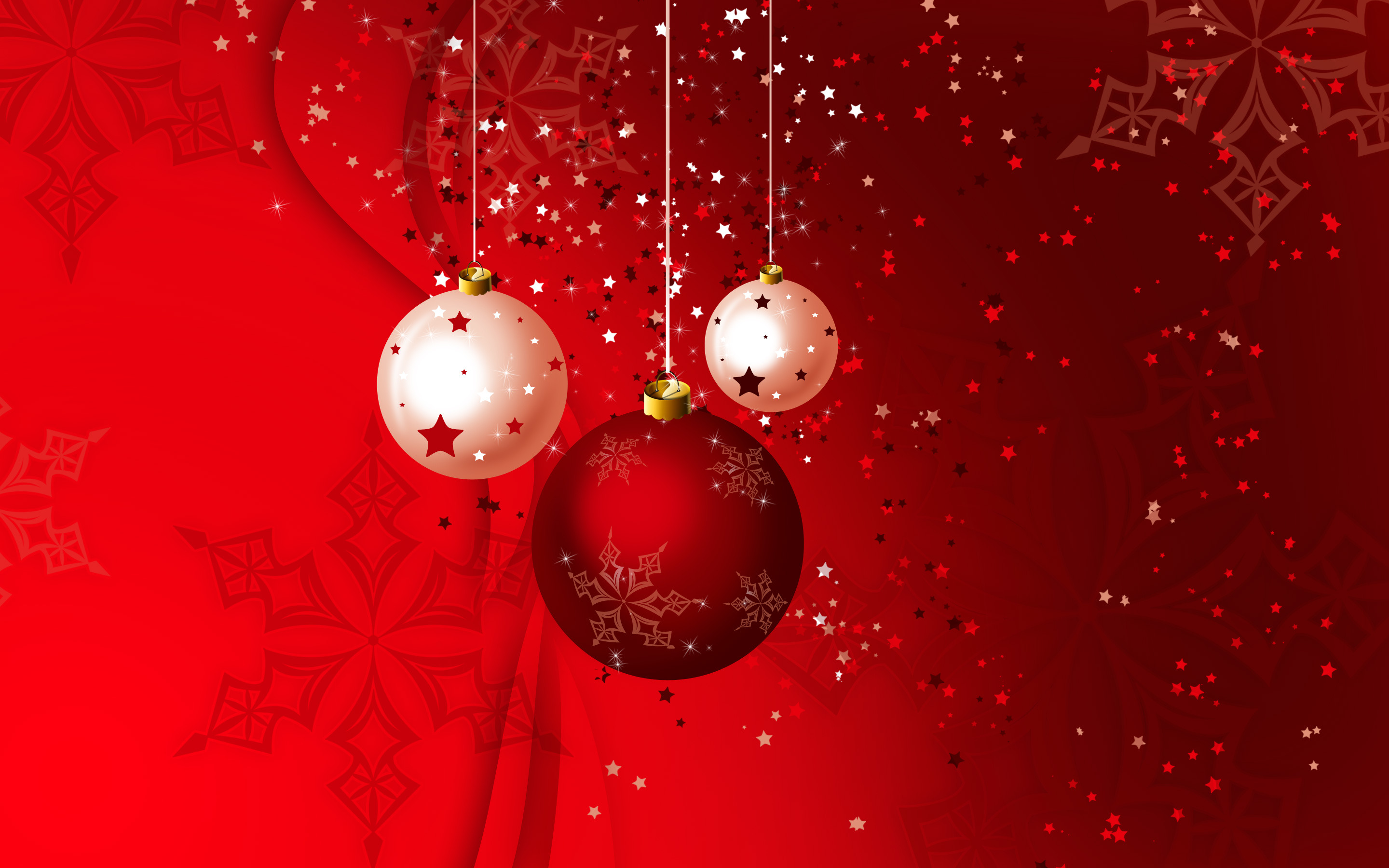 35 Stars At Xmas Background Images, Cards Or Christmas - Red Full Hd Christmas Background , HD Wallpaper & Backgrounds