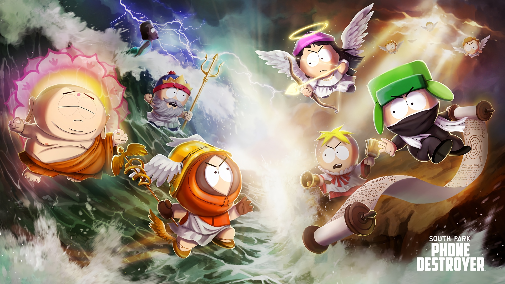 Tv Show South Park Wallpaper Id South Park Phone Destroyer