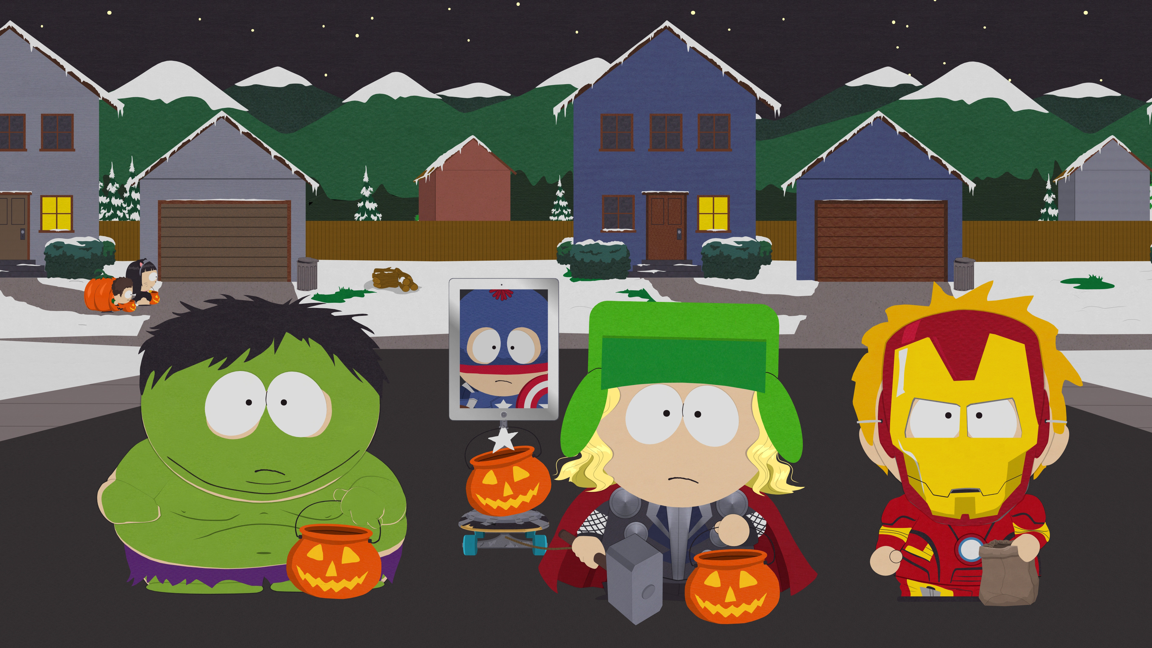 The Stick Of Truth Wallpaper Jpg South Park Halloween