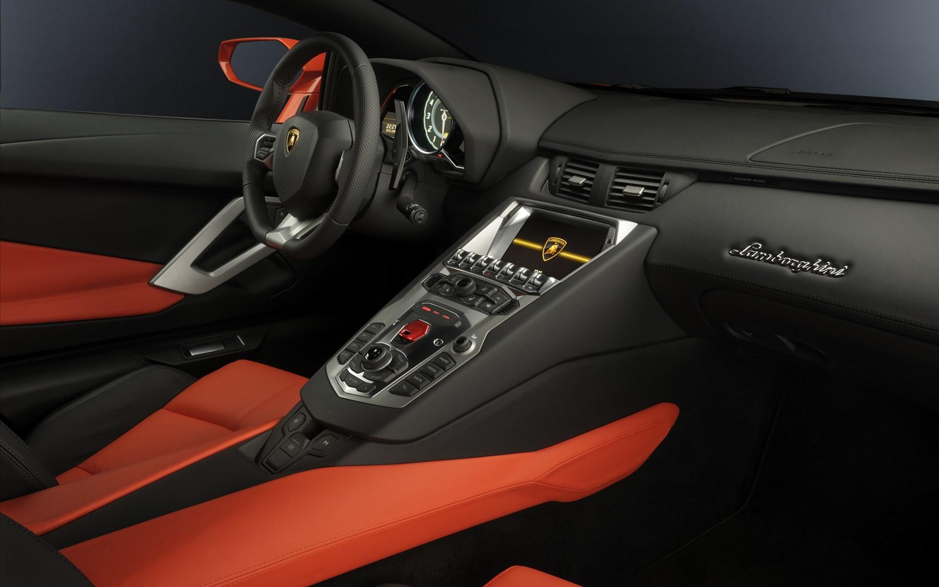 2011 Lamborghini Aventador Interior Interior Lamborghini