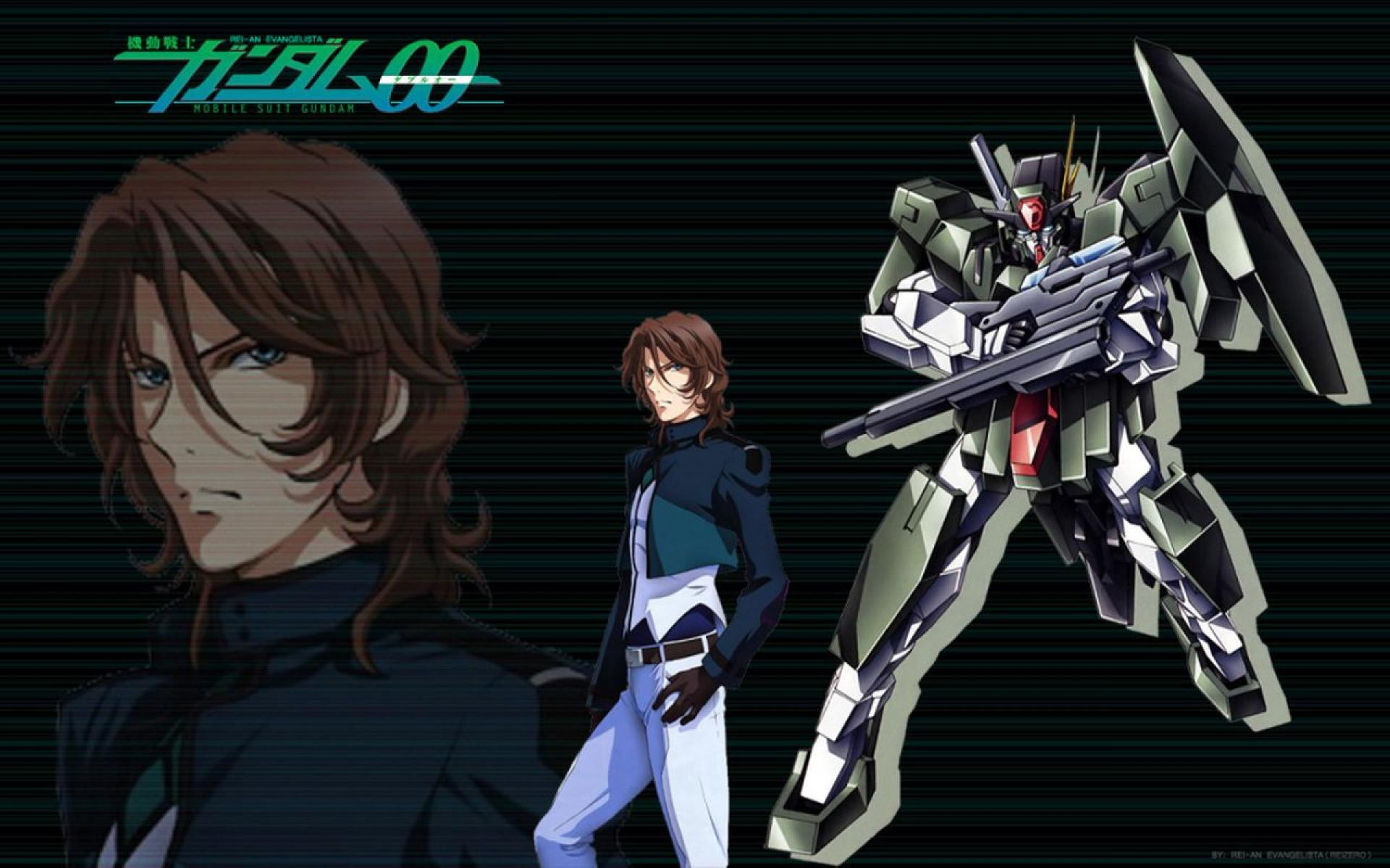 Mobile Suit Gundam 00 Gundam Oo Lockon Gundam 1244141 Hd