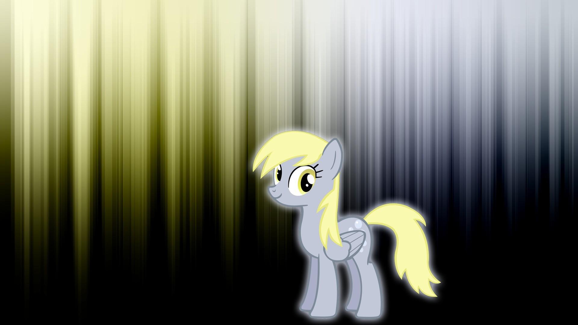 Derpy Hooves My Little Pony Glow Wallpaper Derpy Hooves
