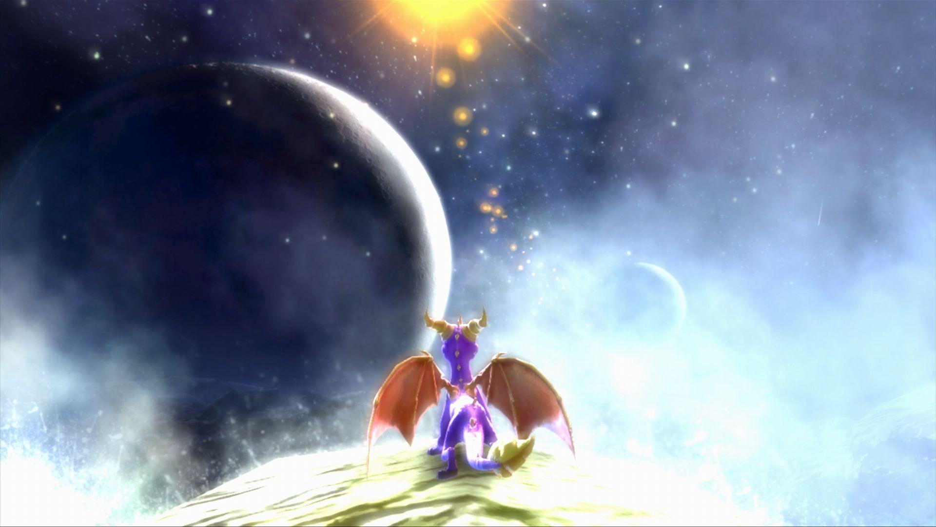 Spyro The Dragon Hd Wallpaper Legend Of Spyro Dawn Of The Dragon