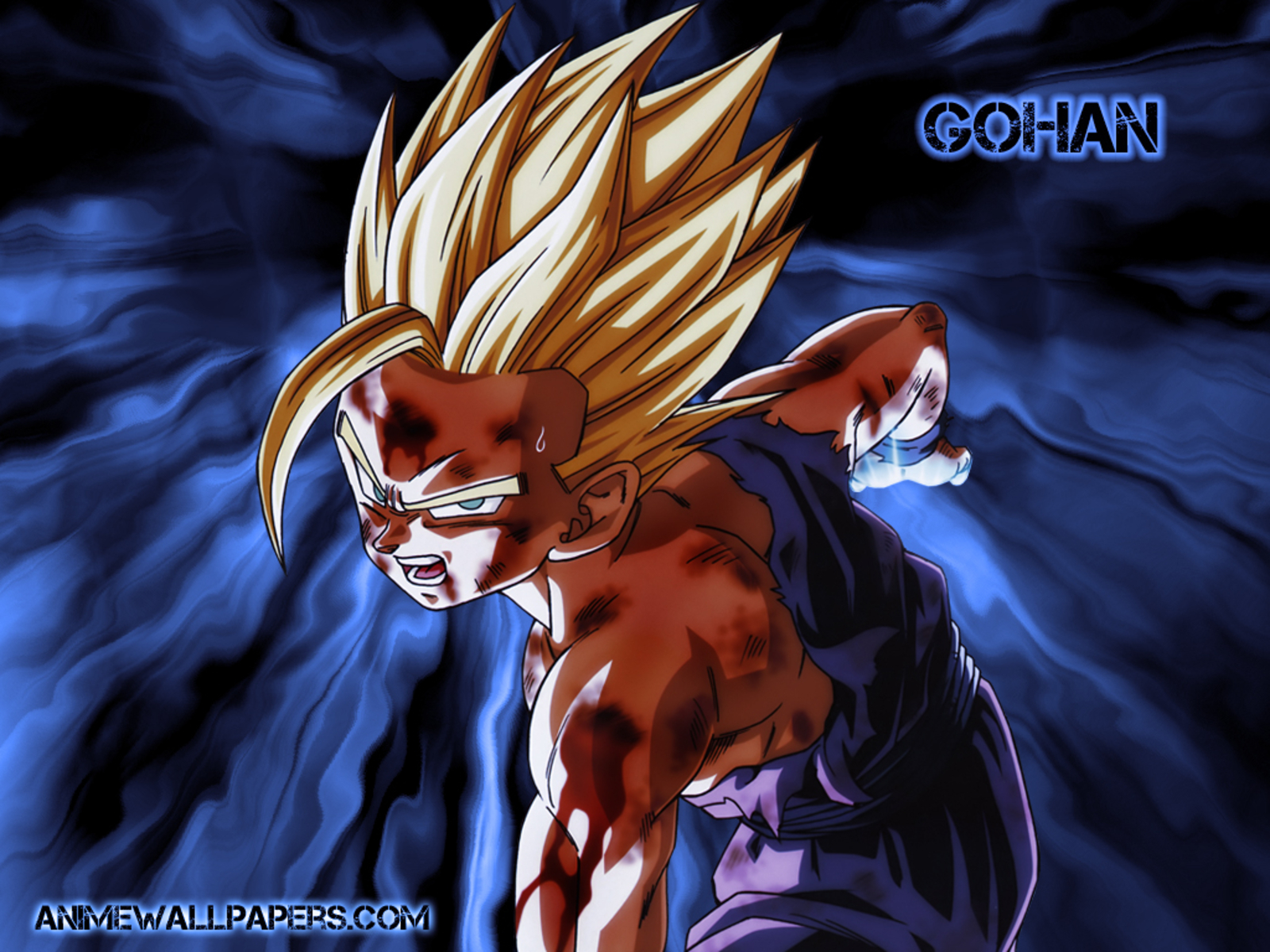 Gohan Super Saiyan 2 Gohan Kamehameha 1245937 Hd Wallpaper Backgrounds Download