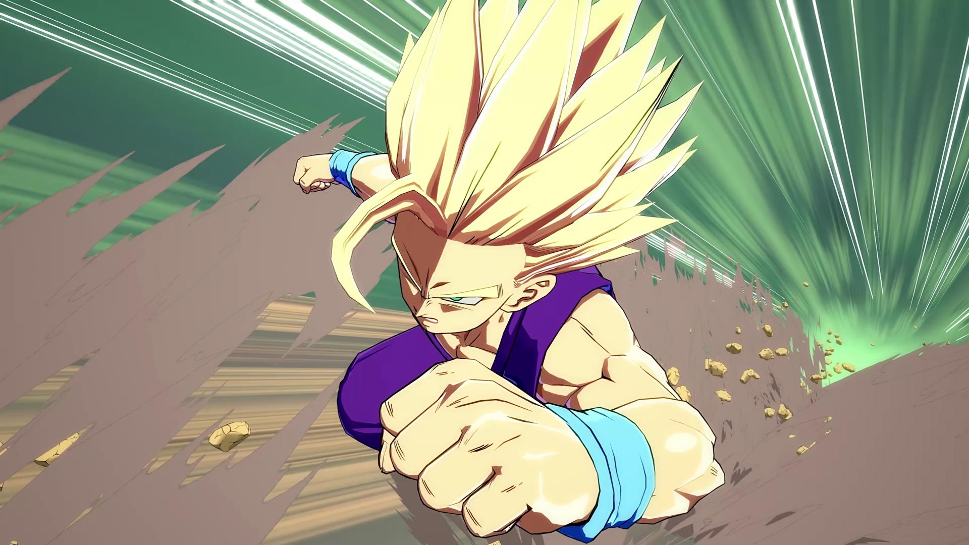Gohan Super Saiyan Dragon Ball Fighterz Video Game Dragon