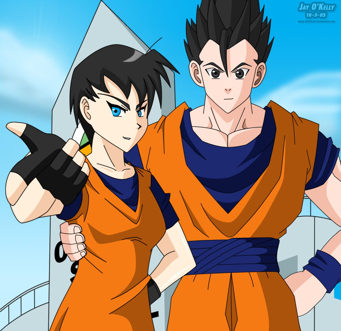 Dragon Ball Z Goten Wallpaper