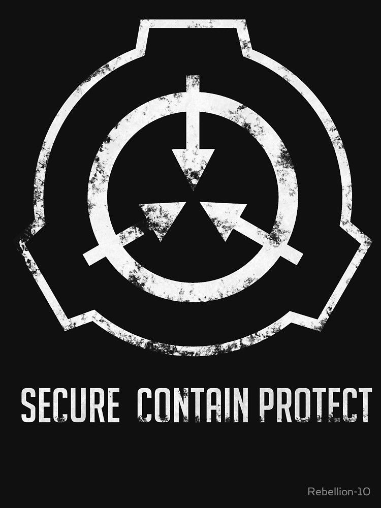 The Symbol Of The Scp Foundation - Secure Contain Protect , HD Wallpaper & Backgrounds