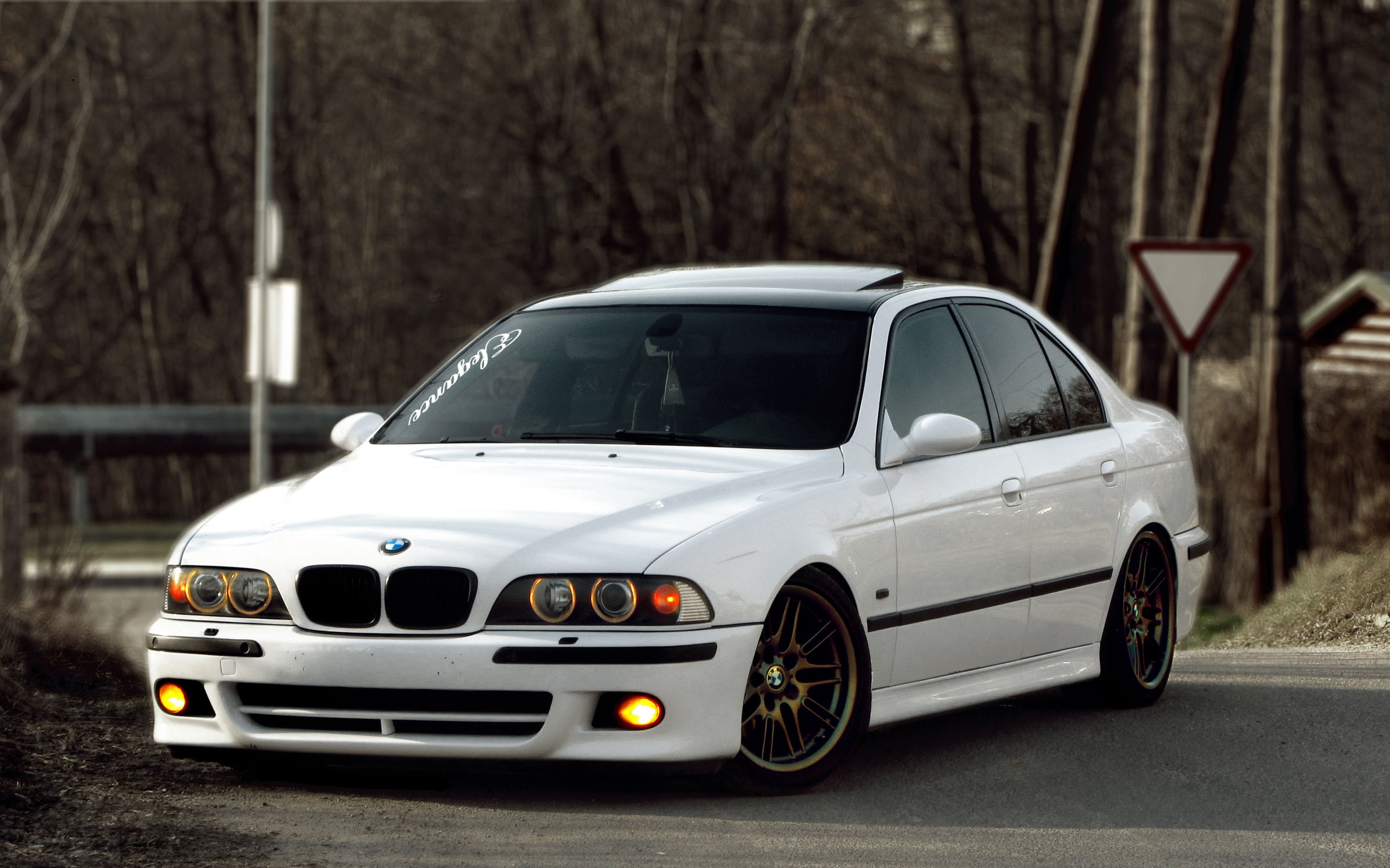 Bmw M5 4k E39 Tuning Stance White M5 German Cars Bmw