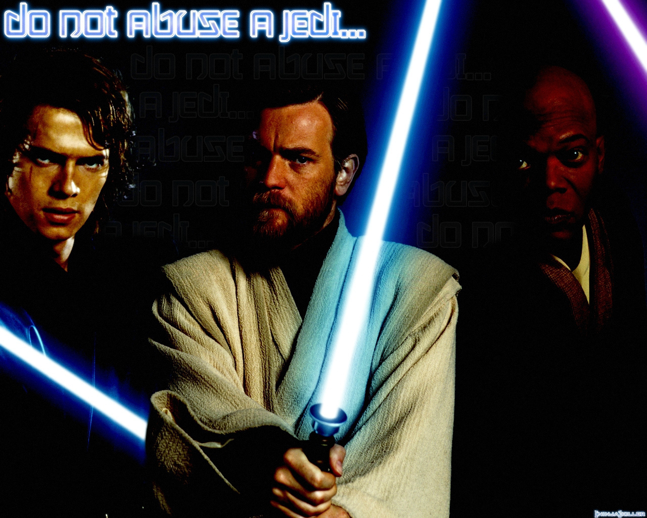 Anakin Obi Wan Kenobi And Mace Windu Action Film 1249114 Hd