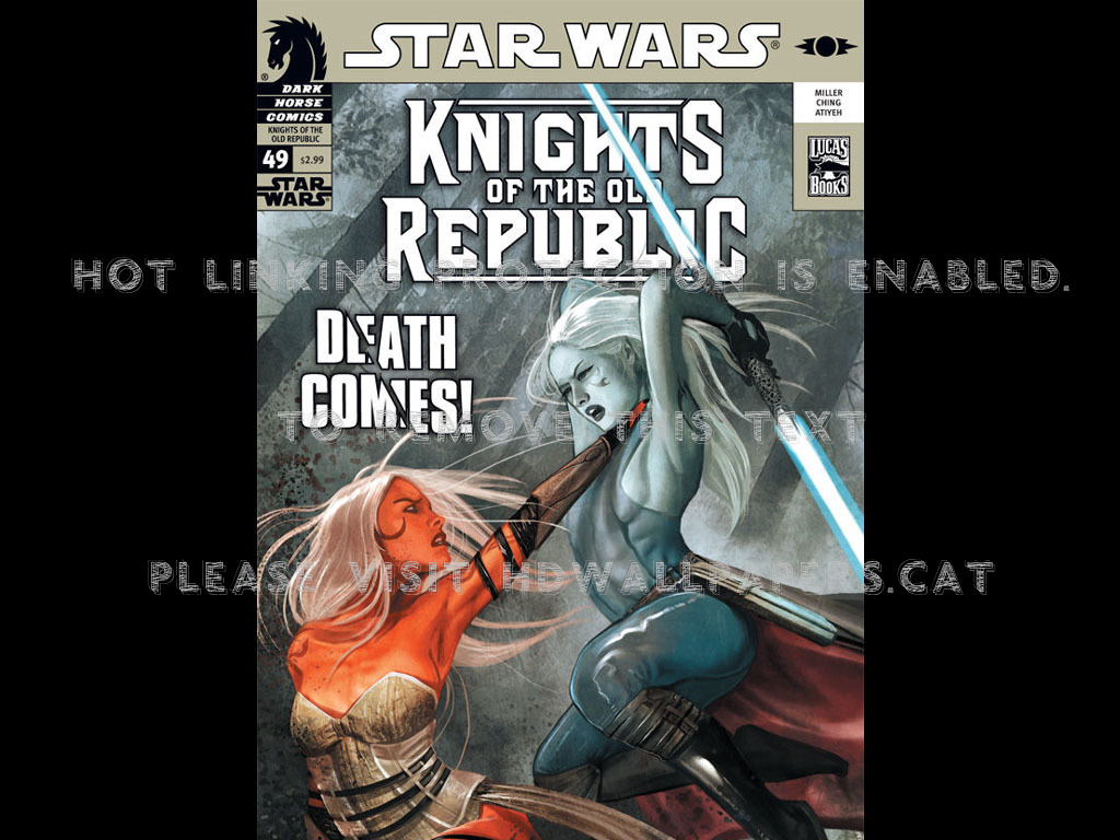 Star Wars Knights Of The Old Republic Volume 5 1249212 Hd