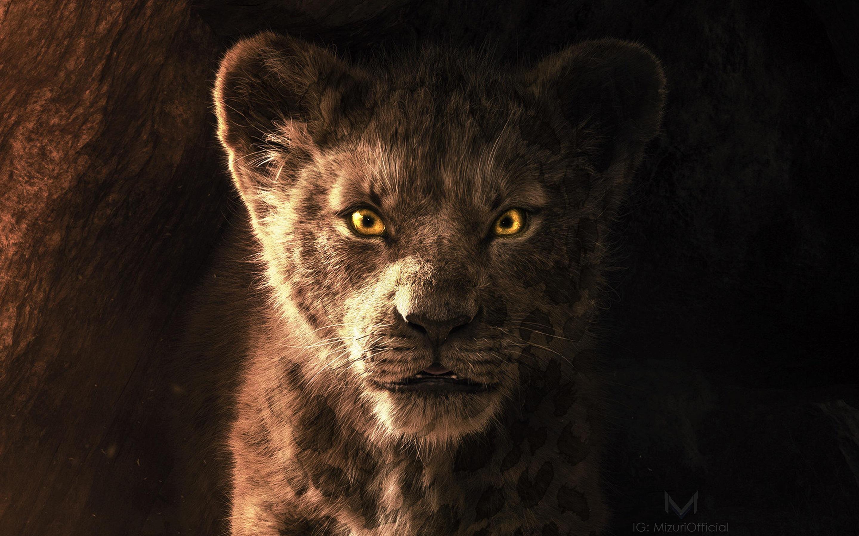 Sua Resolução - - Simba Lion King Live Action , HD Wallpaper & Backgrounds