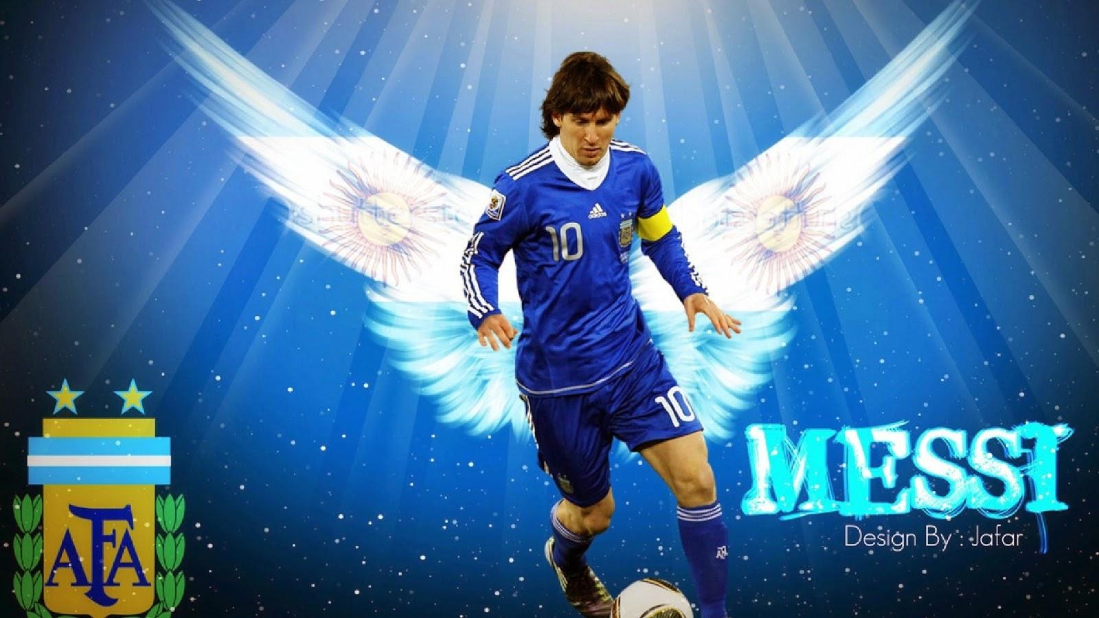 Leo Messi Wallpaper - Fifa World Cup Wallpaper Messi , HD Wallpaper & Backgrounds