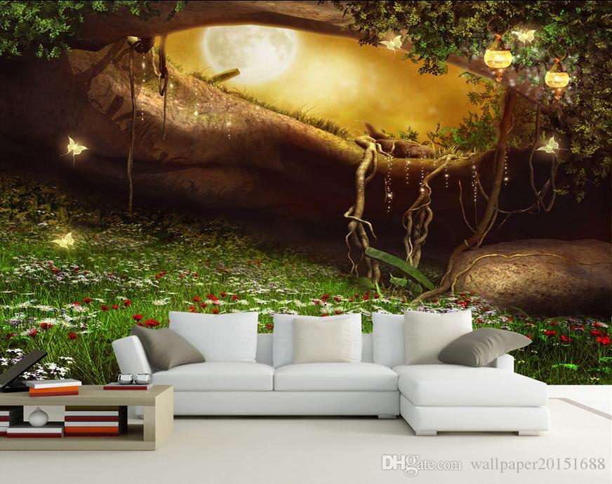 Compre 3d Wallpaper Personalizado 3d Mural Wallpaper Fairy