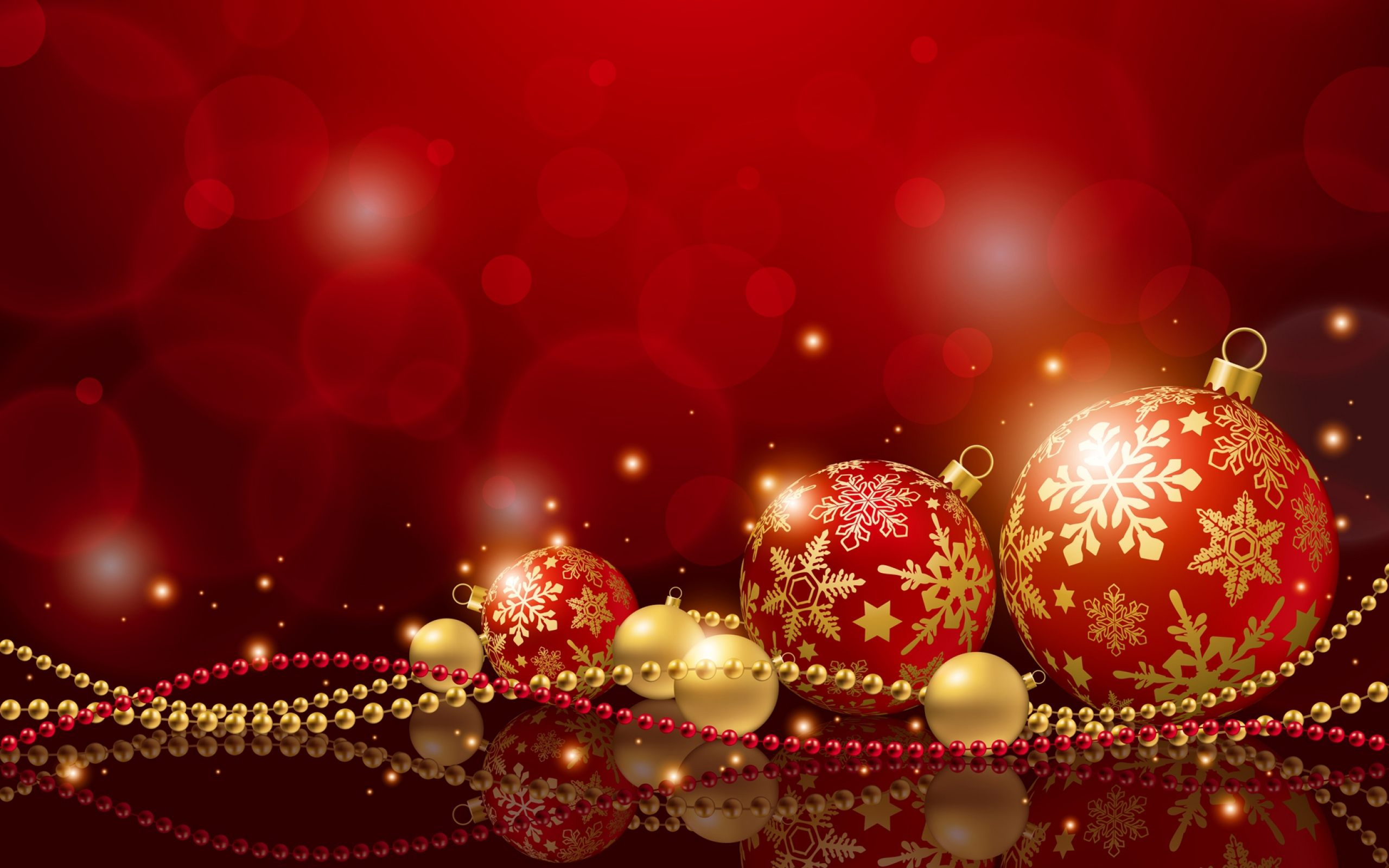 Holiday Wallpaper Hd - Red Christmas Backgrounds , HD Wallpaper & Backgrounds