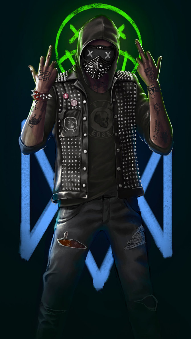 Watch Dogs 2 Wrench Wallpaper - Watch Dogs Two Wrench , HD Wallpaper & Backgrounds