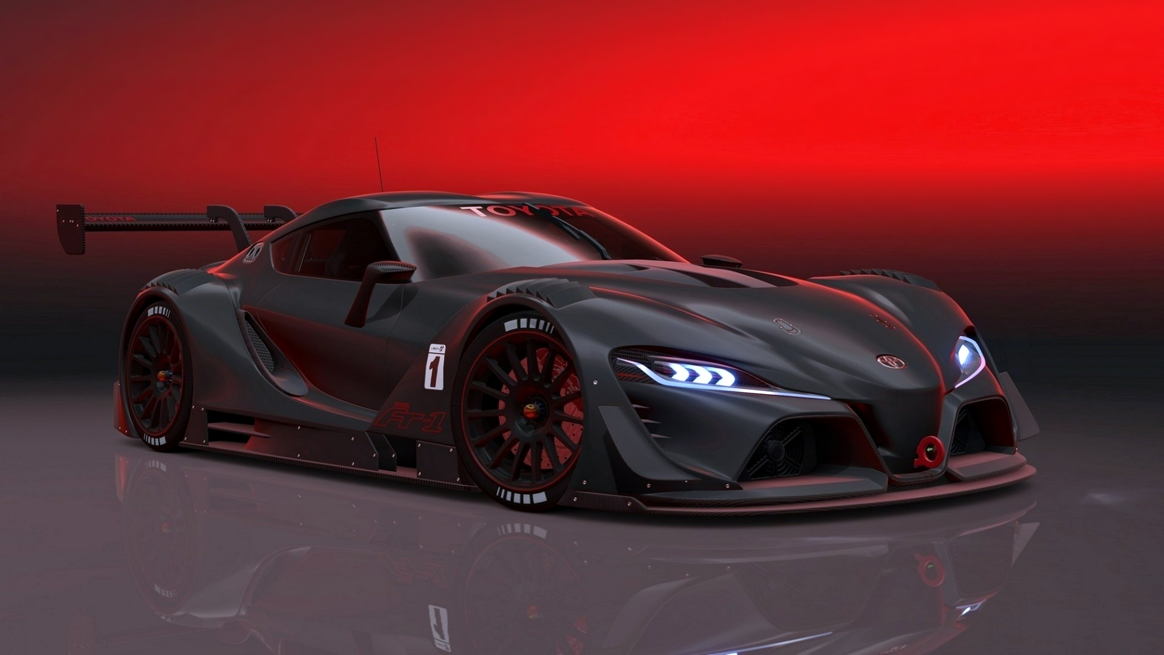 Hd Wallpaper - Toyota Ft 1 Vision Gt , HD Wallpaper & Backgrounds