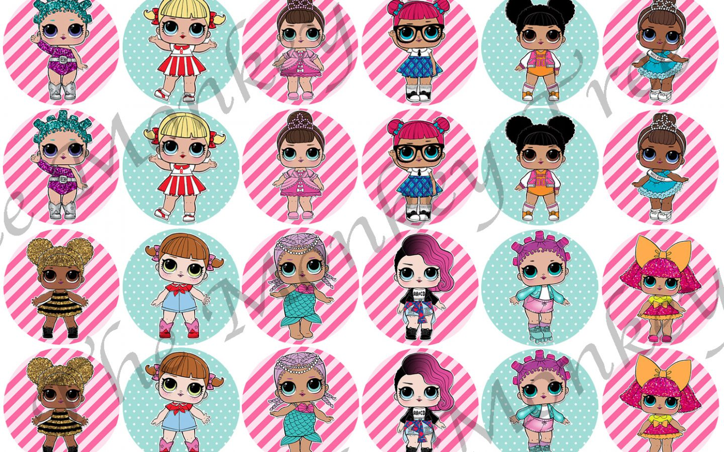 Beautiful Lol Dolls Pictures To Colour Doll Images - Lol Surprise , HD Wallpaper & Backgrounds