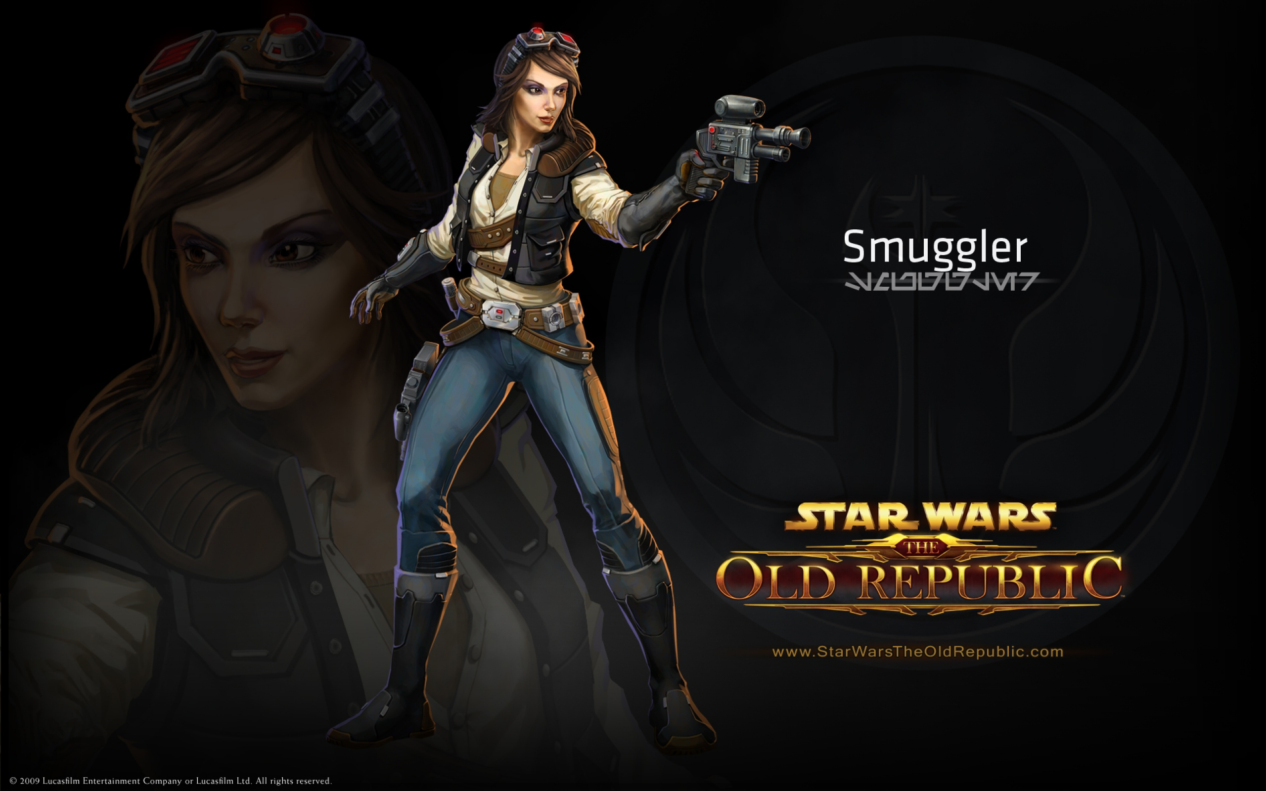 Star Wars The Old Republic Wallpaper Star Wars The Old Republic Leia 1260142 Hd Wallpaper Backgrounds Download