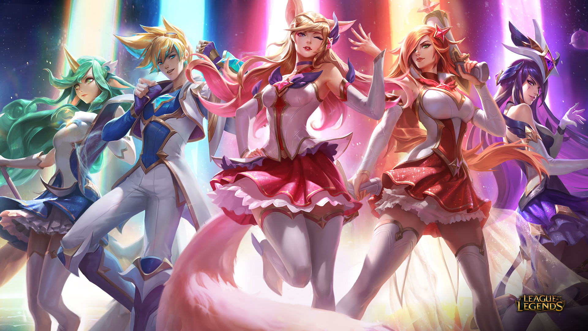 Star Guardian Soraka Ezreal Ahri Miss Fortune Lol Star