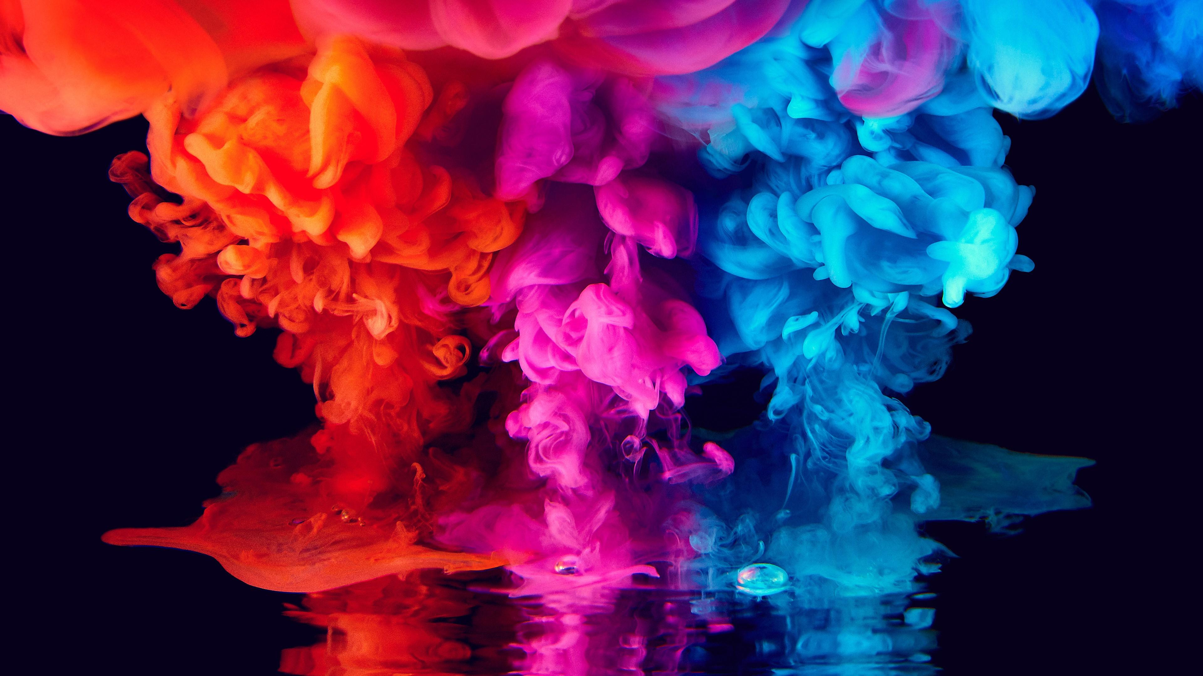 Colorful Smoke 4k Wallpapers - Humo De Colores 4k , HD Wallpaper & Backgrounds