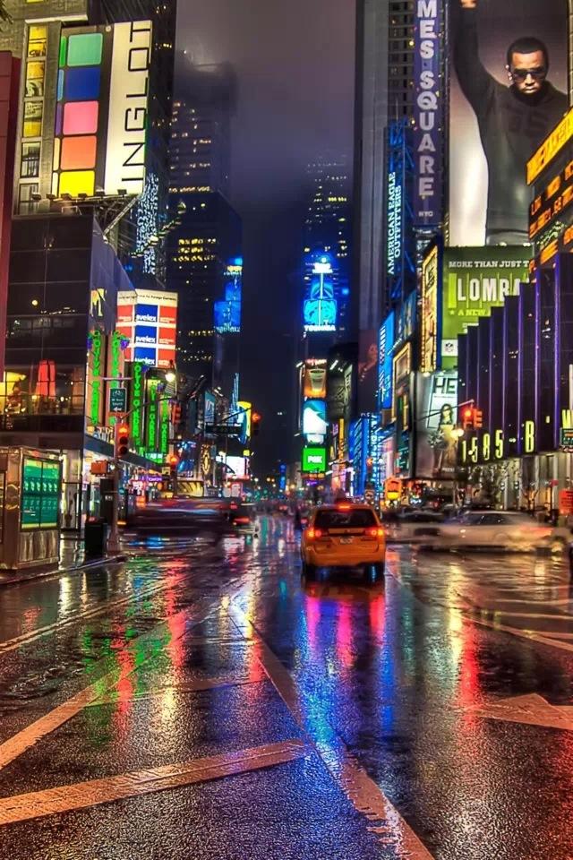 City Night Iphone 4s Wallpaper City Night Wallpaper Iphone