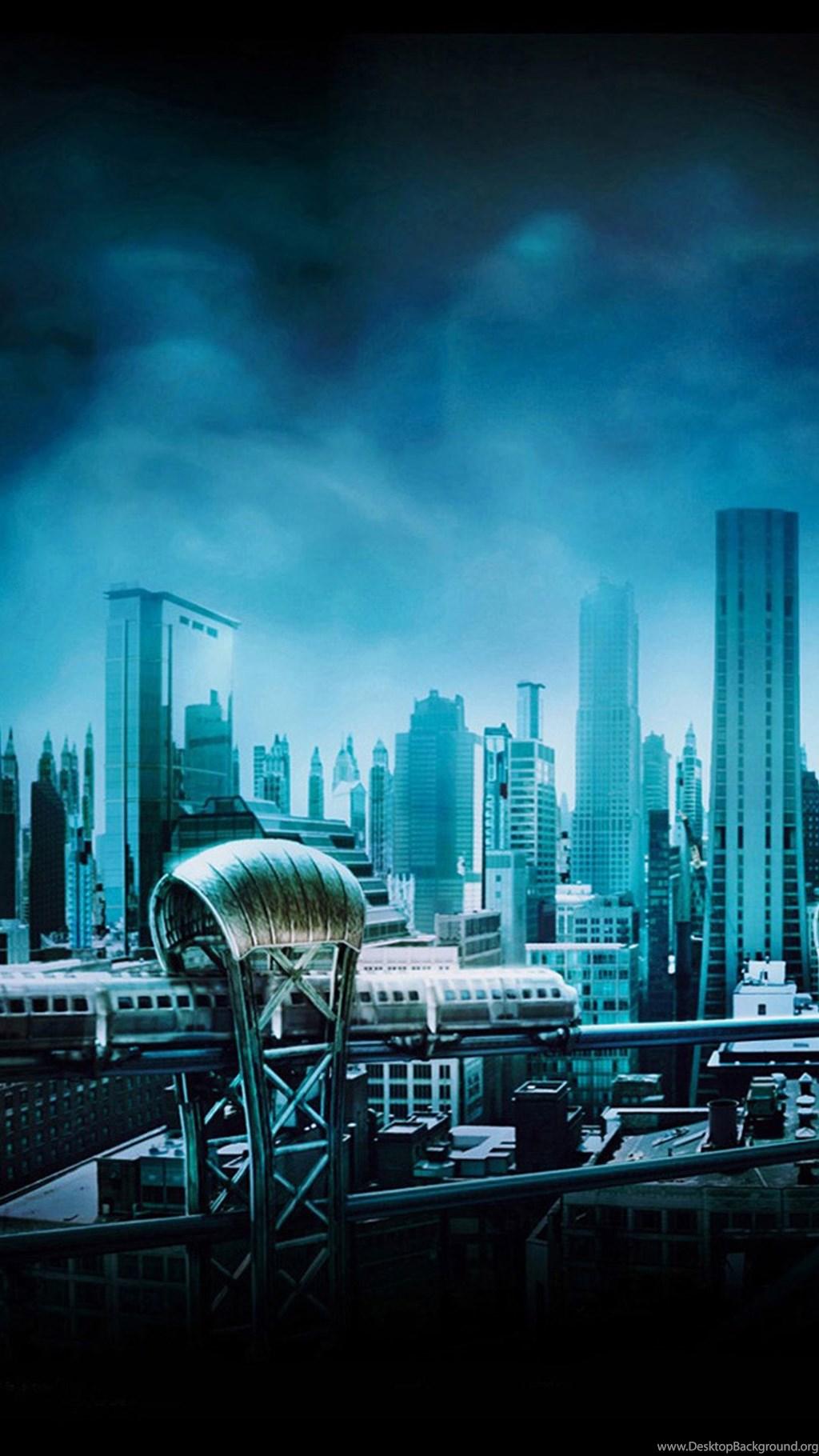 Download Gotham City Download Wallpaper - Batman Dark Knight Backgrounds , HD Wallpaper & Backgrounds