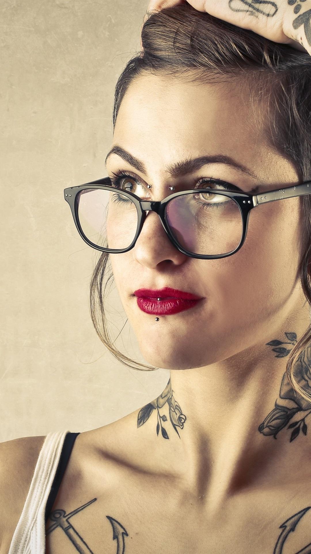 Tattoo Girl Wallpaper Iphone 6 , HD Wallpaper & Backgrounds