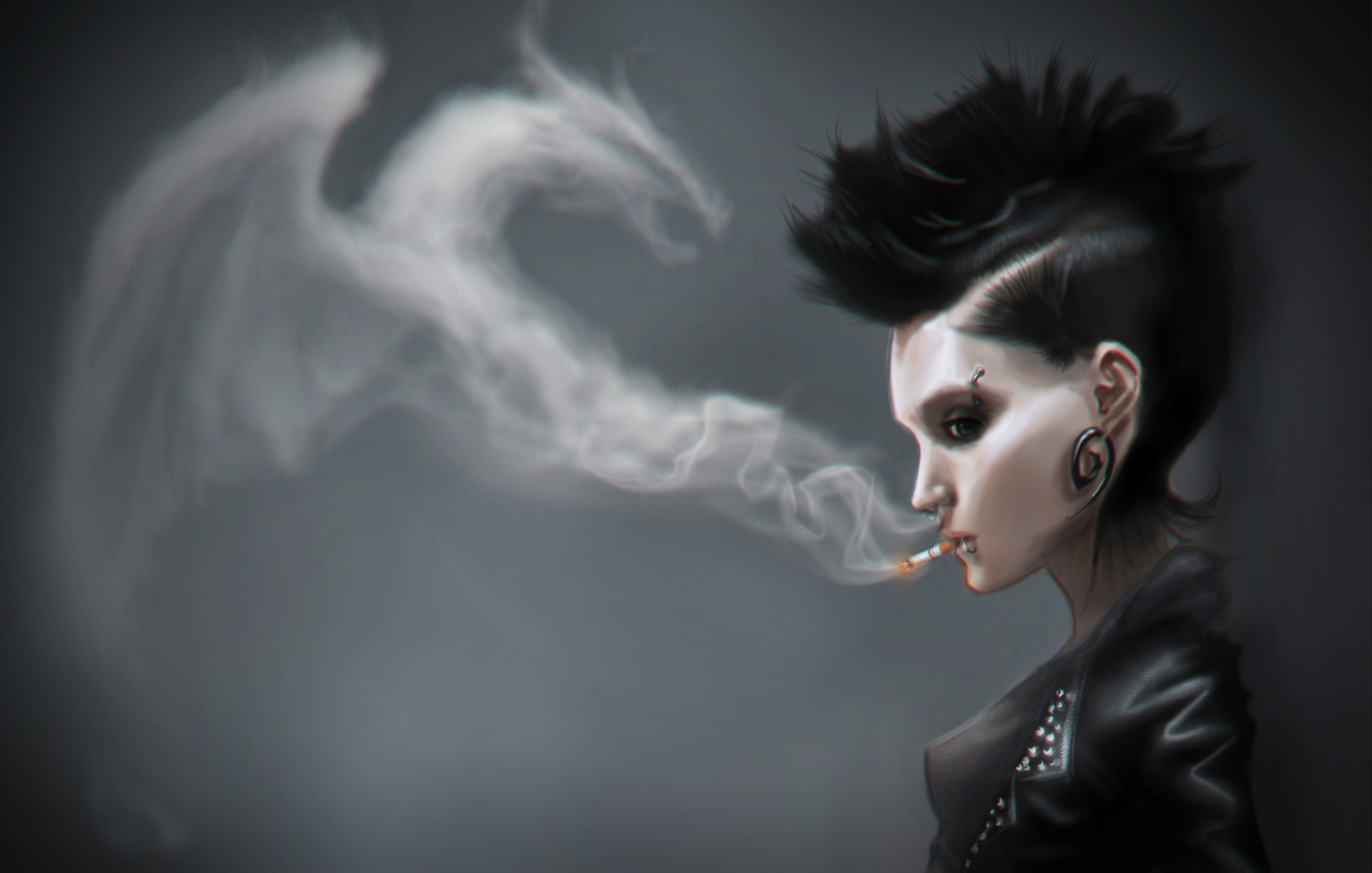 4k Wallpaper The Girl With The Dragon Tattoo 1264679 Hd