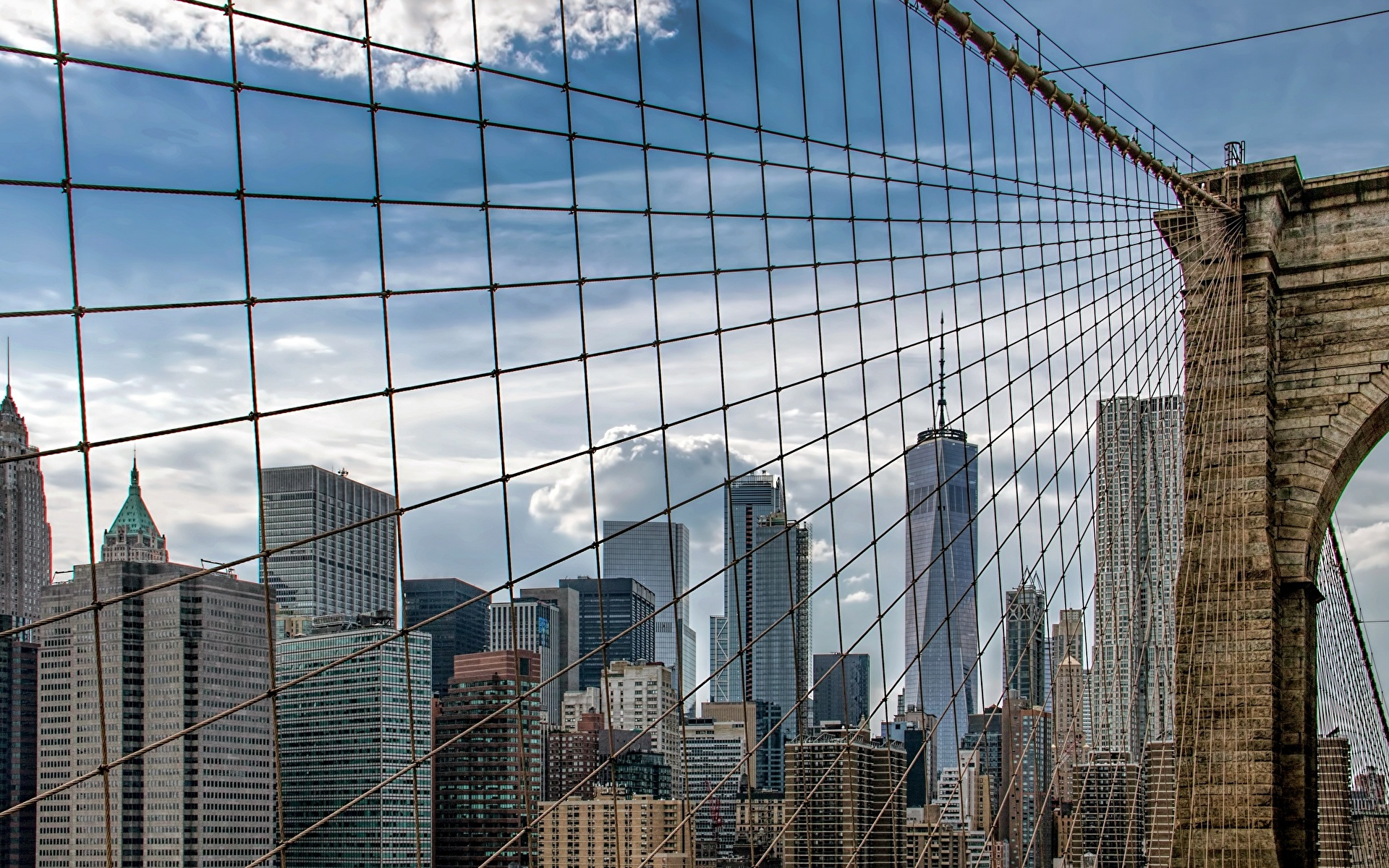 1920 X Brooklyn Bridge 1265082 Hd Wallpaper