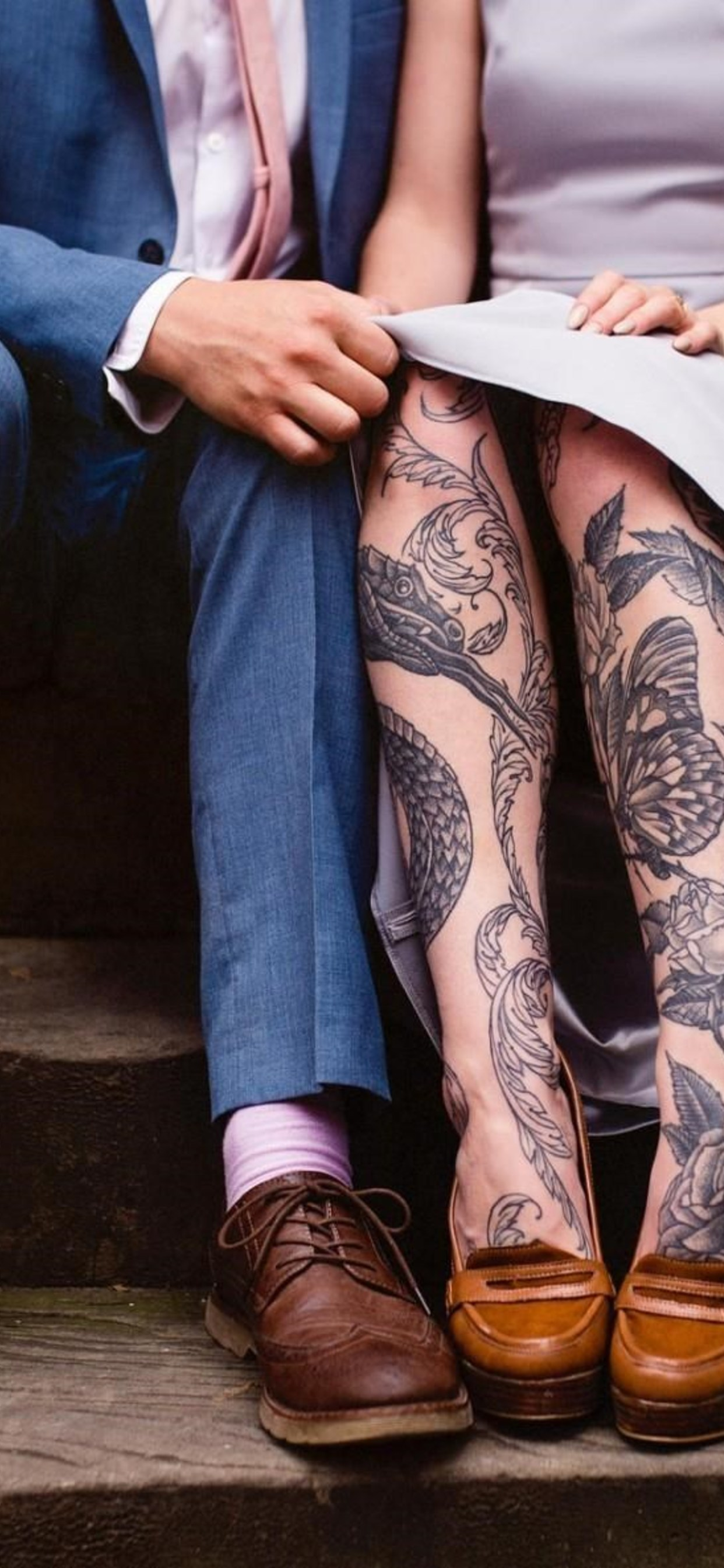 Girl With Tattoos On Legs Iphone Xs Wallpaper 4k Tattoo