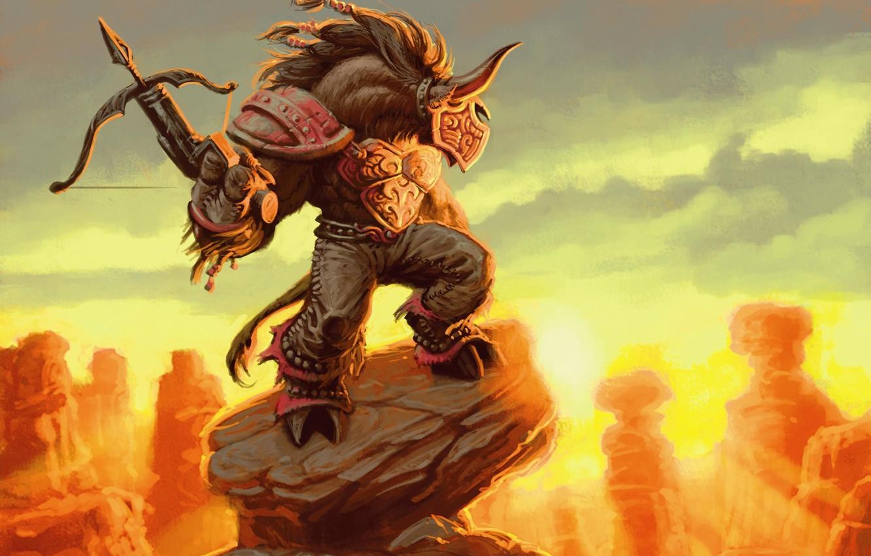 Photo Wallpaper Mountain Wow Land World Of Warcraft World Of