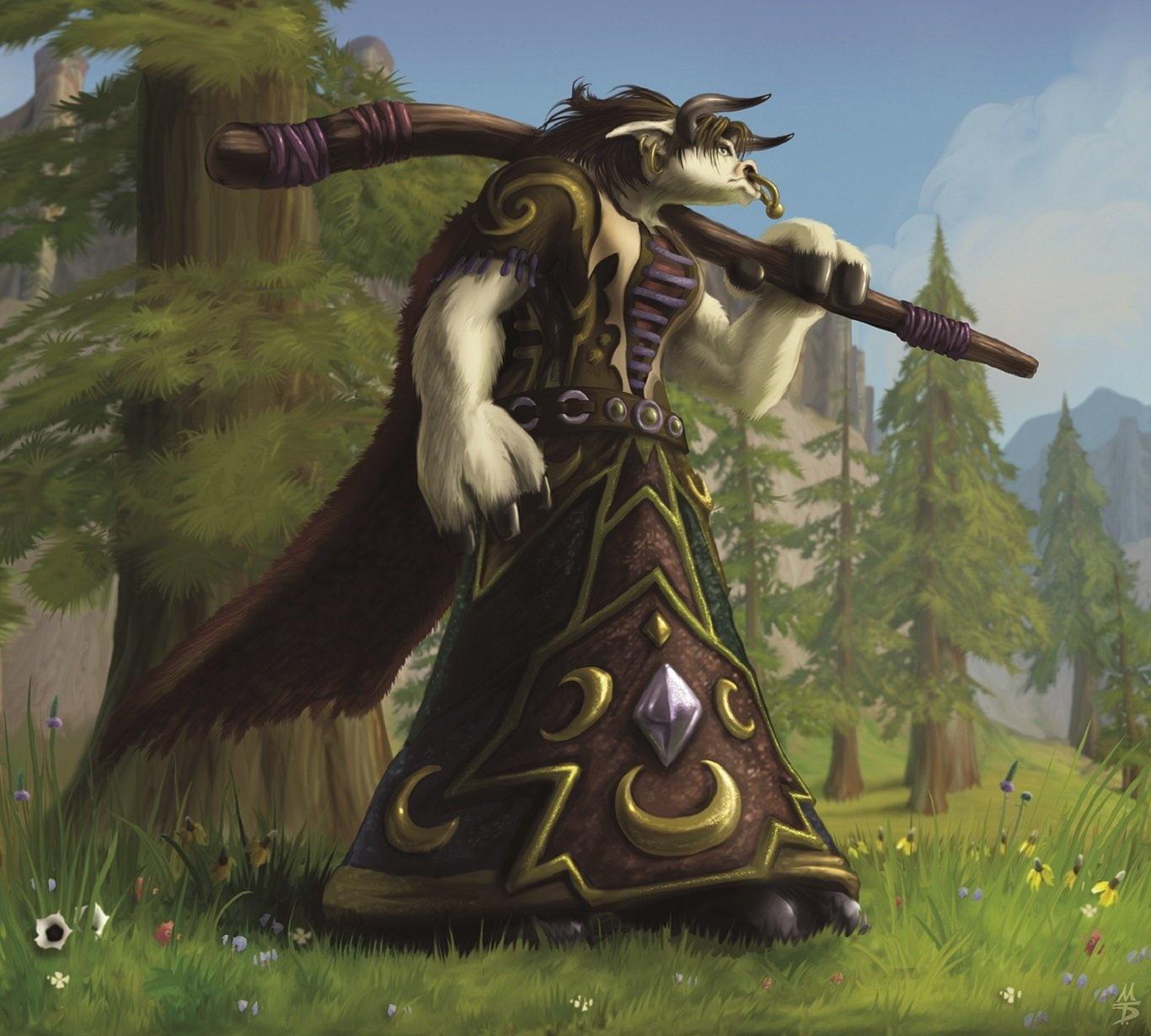 Warcraft World Of Warcraft Tauren Warcraft Wallpaper Hd Tauren