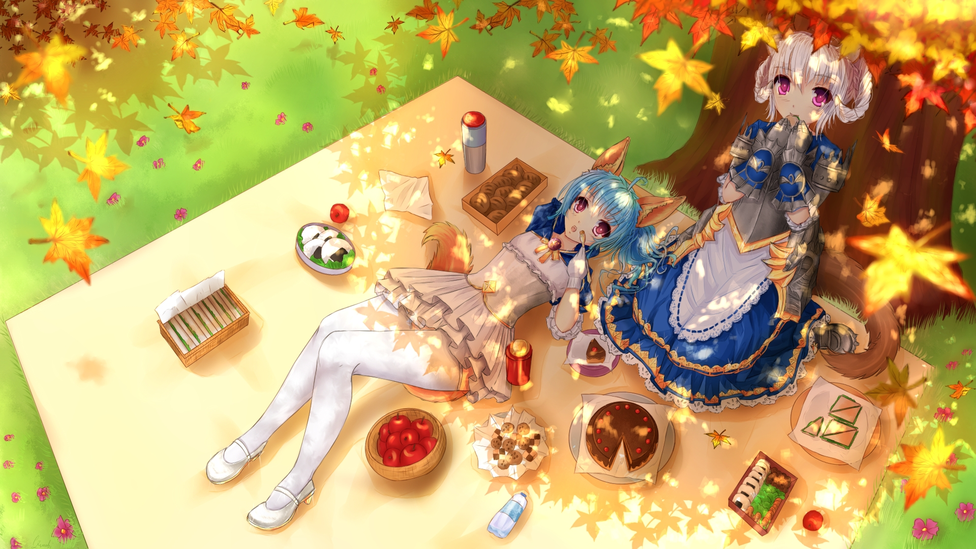 Anime Ximbixill Tera Online Picnic Hd Wallpaper