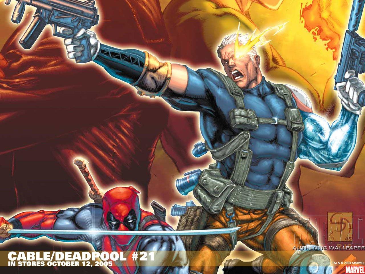 Hd Wallpaper Cable Marvel Comics 1270822 Hd Wallpaper