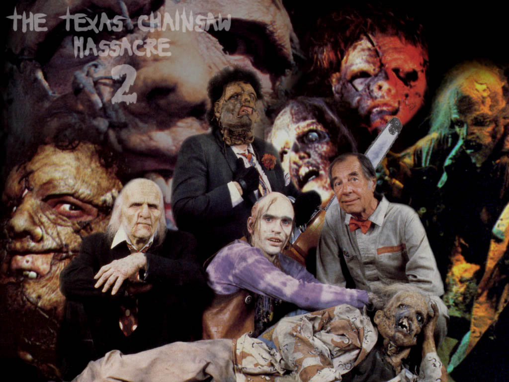 1024 X - Texas Chainsaw Massacre 2 Family , HD Wallpaper & Backgrounds