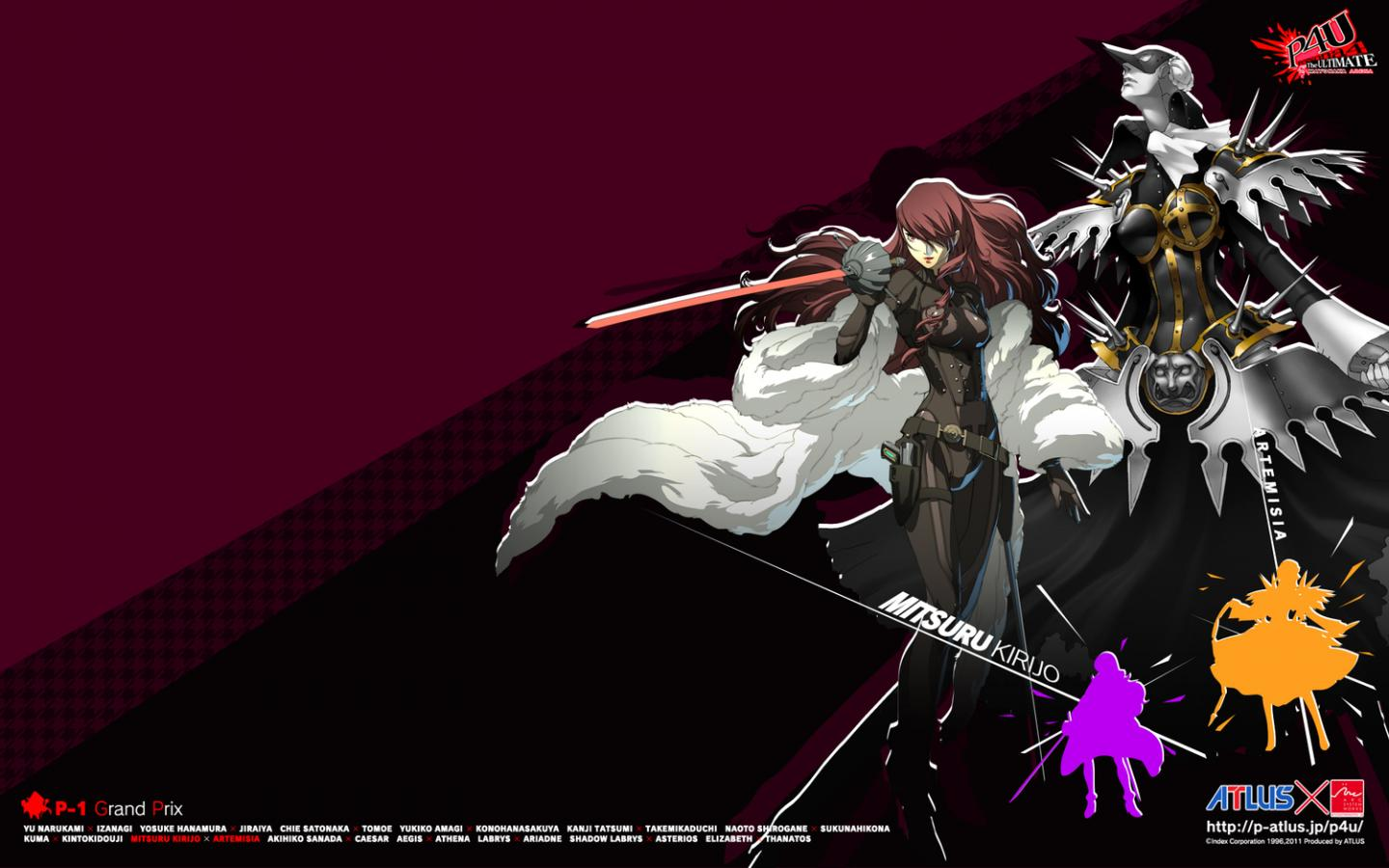 Persona 4 Arena 1271623 Hd Wallpaper Backgrounds Download