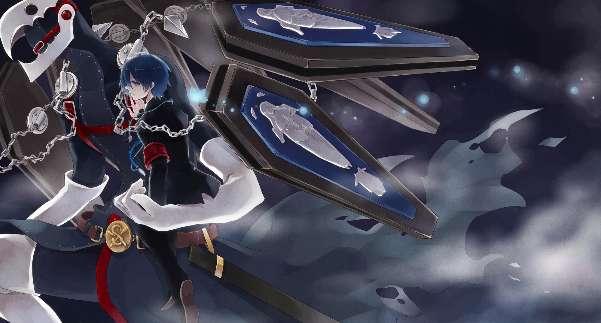 Minato And Thantos Persona 3 Thanatos Wallpaper Hd