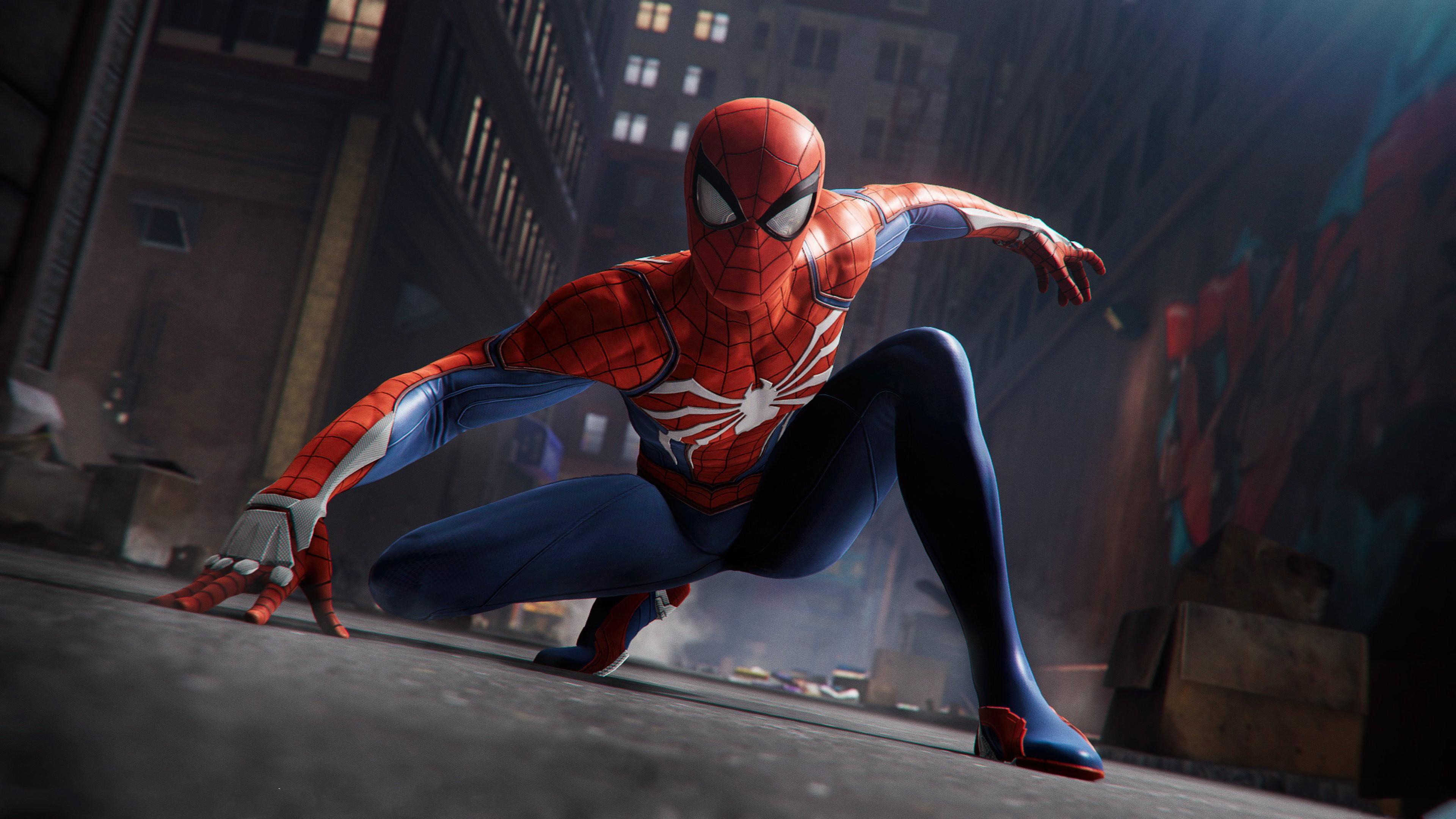 Spider Man In Avengers Infinity War Film 4k Wallpapers