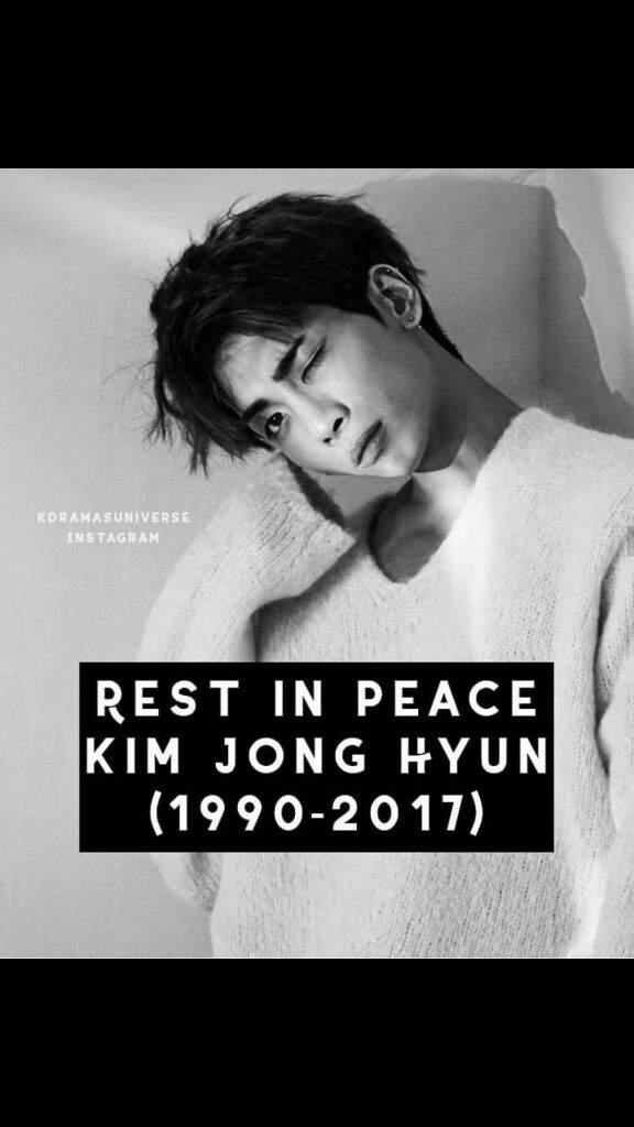 You Did Well Rest In Peace Kim Jonghyun 1277199 Hd