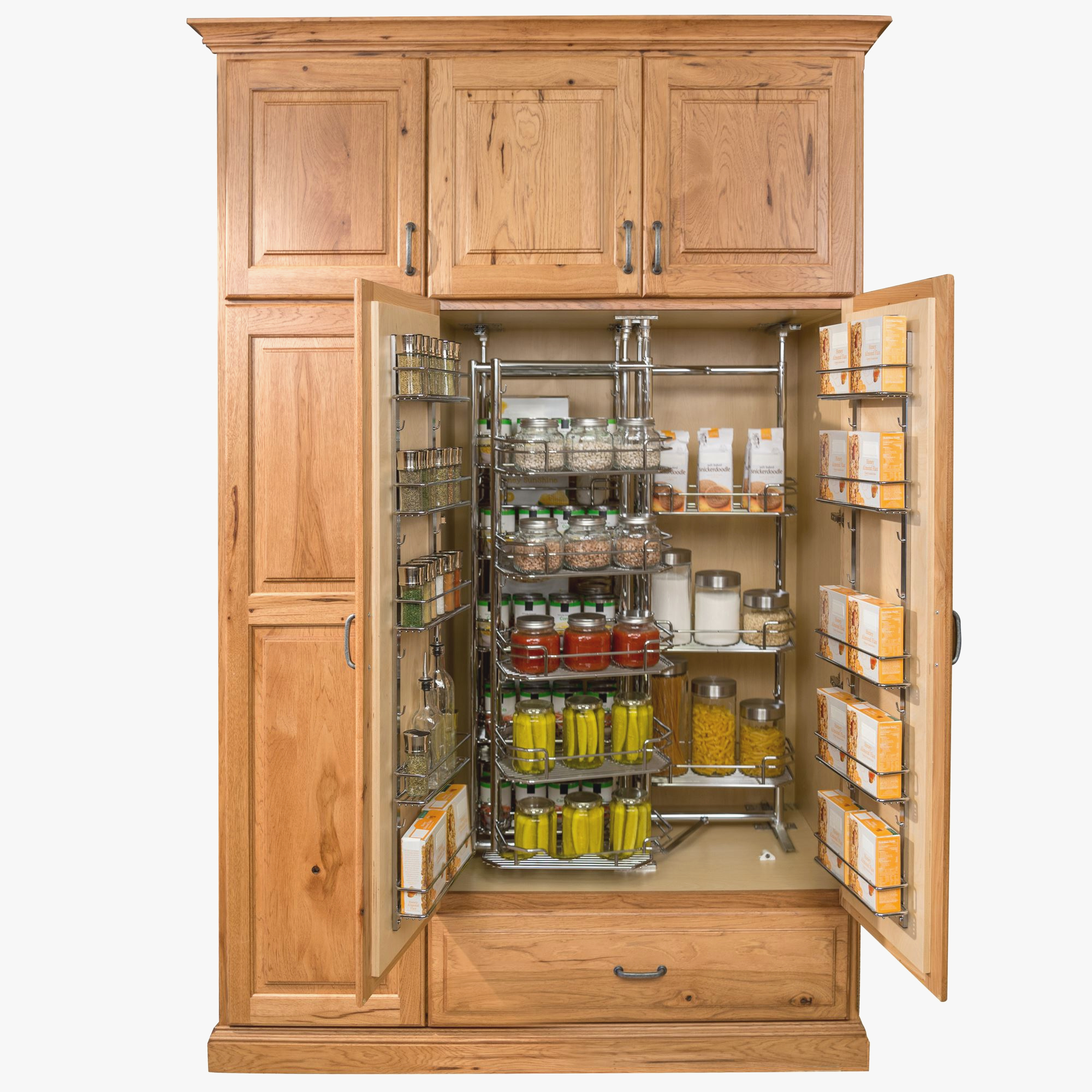 Tall Pantry Cabinet With Drawers Best Of Food Cupboard
