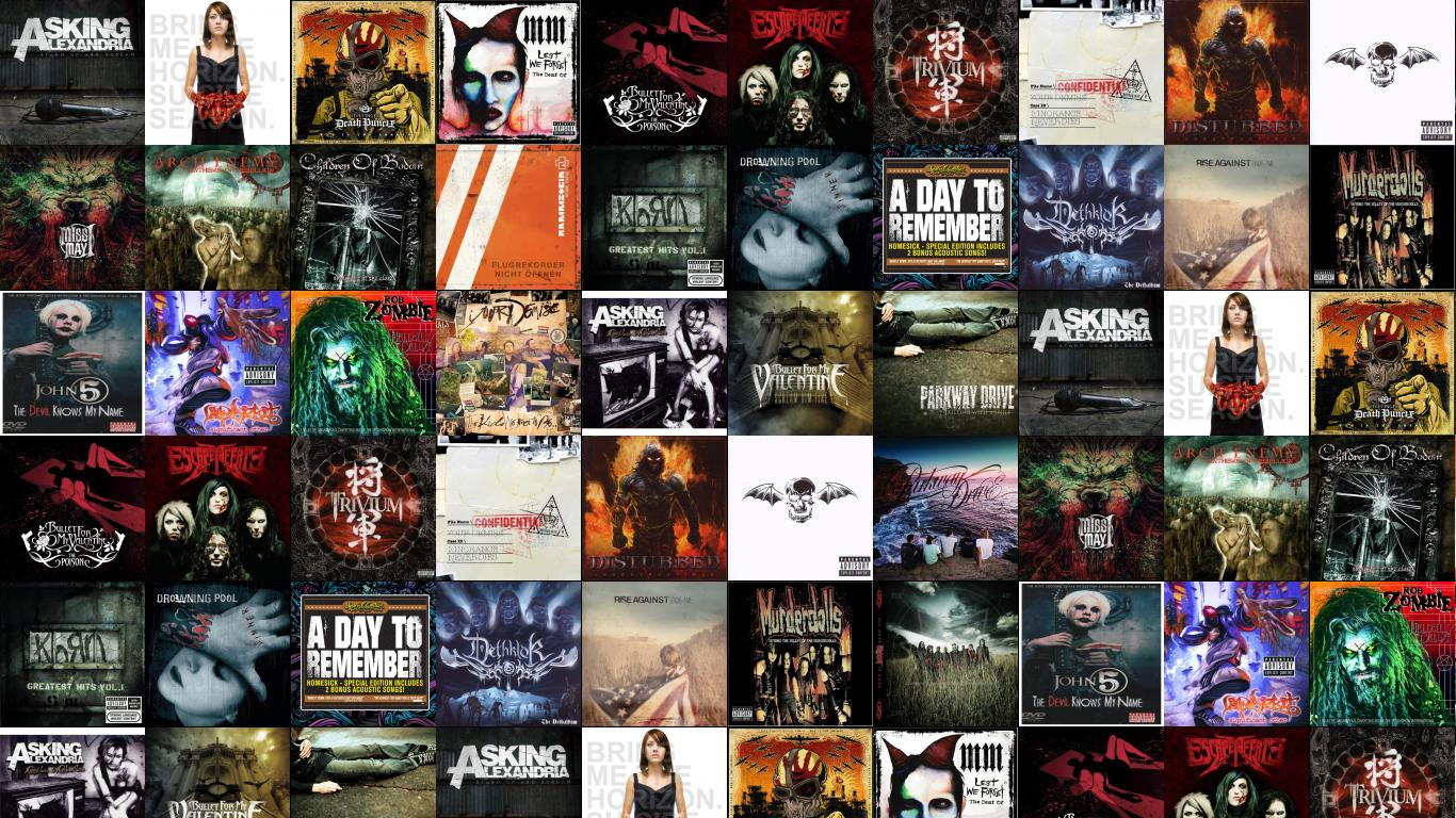 Asking Alexandria Stand Up Scream Bring Me Horizon - Collage , HD Wallpaper & Backgrounds